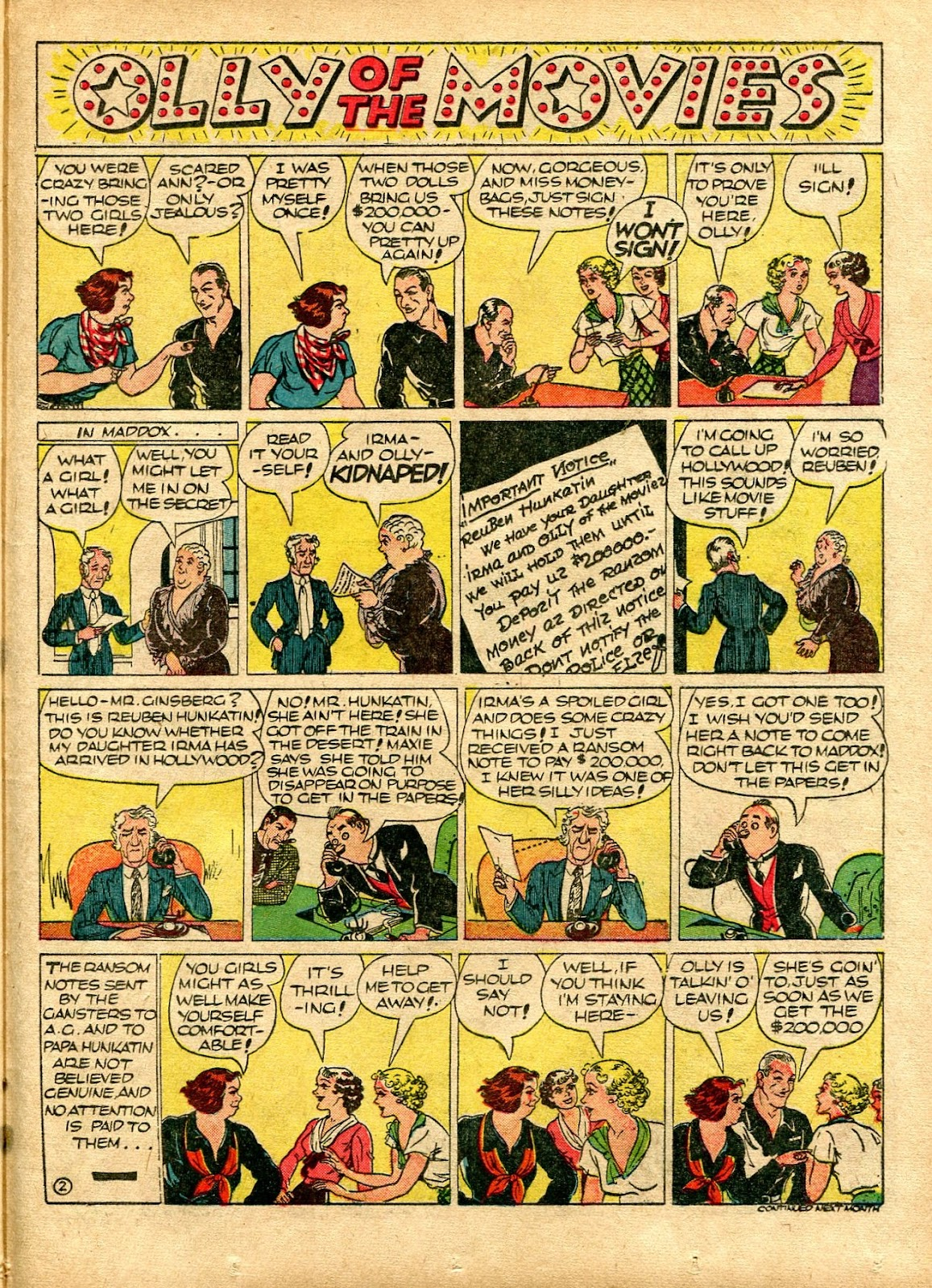 Read online Famous Funnies comic -  Issue #72 - 45
