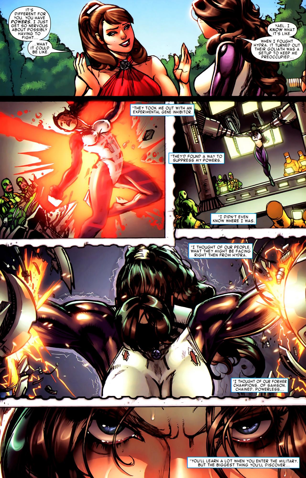 Read online Astonishing Tales (2009) comic -  Issue #6 - 23