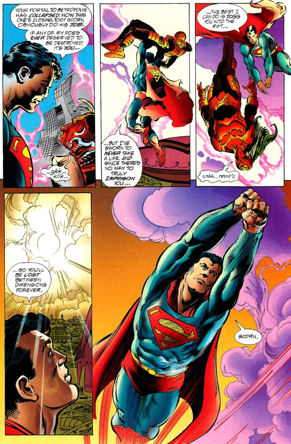 Read online Adventures of Superman (1987) comic -  Issue #563 - 18