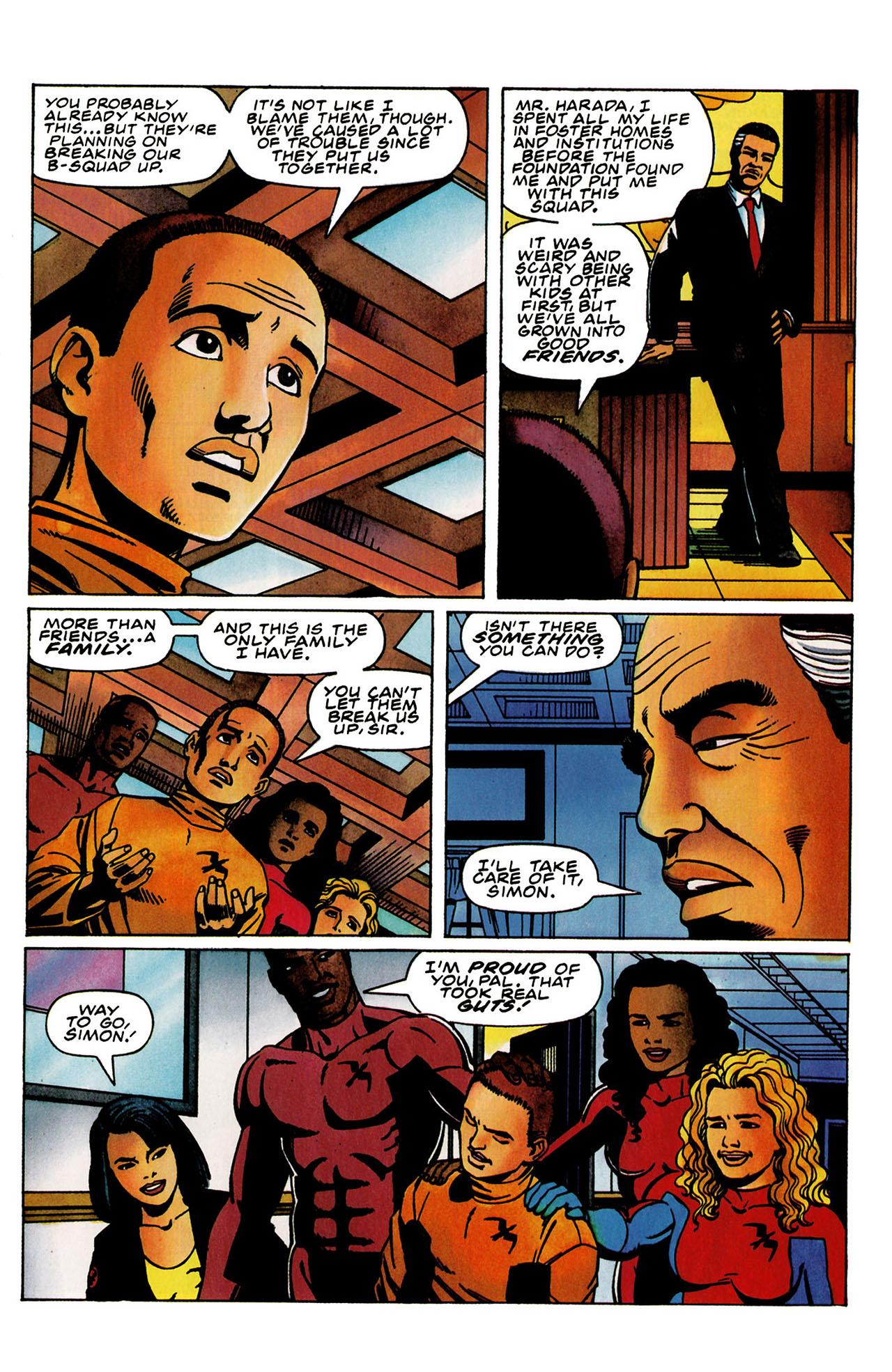 Read online Harbinger (1992) comic -  Issue #31 - 16