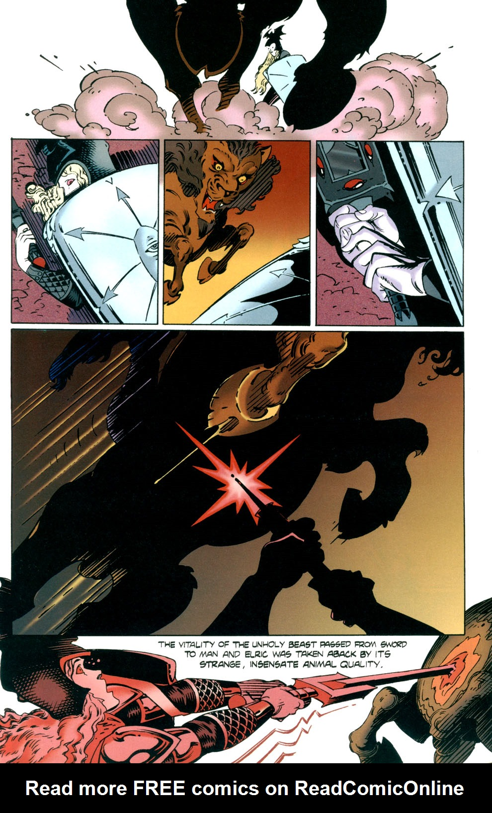 Read online Elric: Stormbringer comic -  Issue #7 - 8