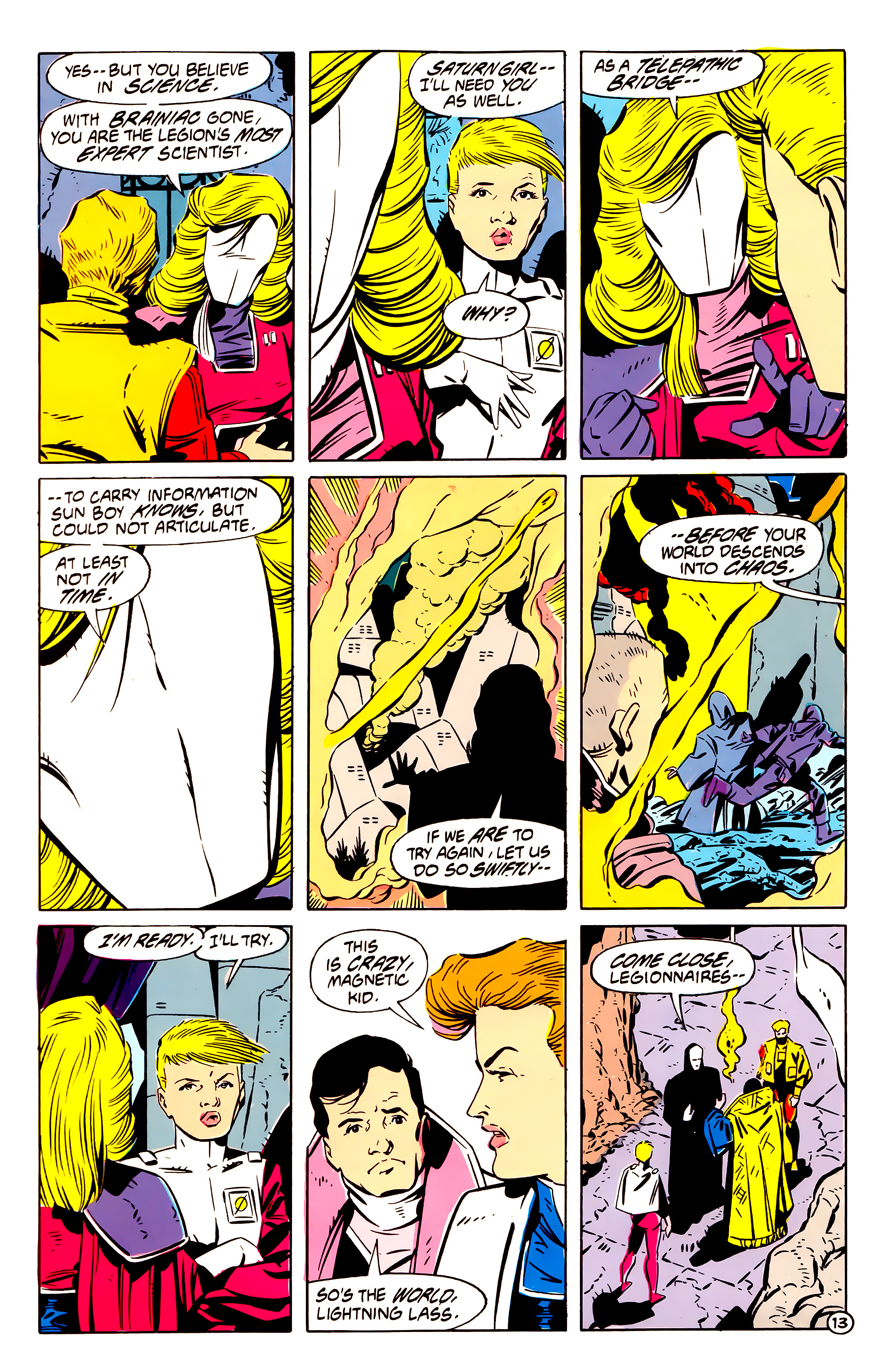 Legion of Super-Heroes (1984) 61 Page 13