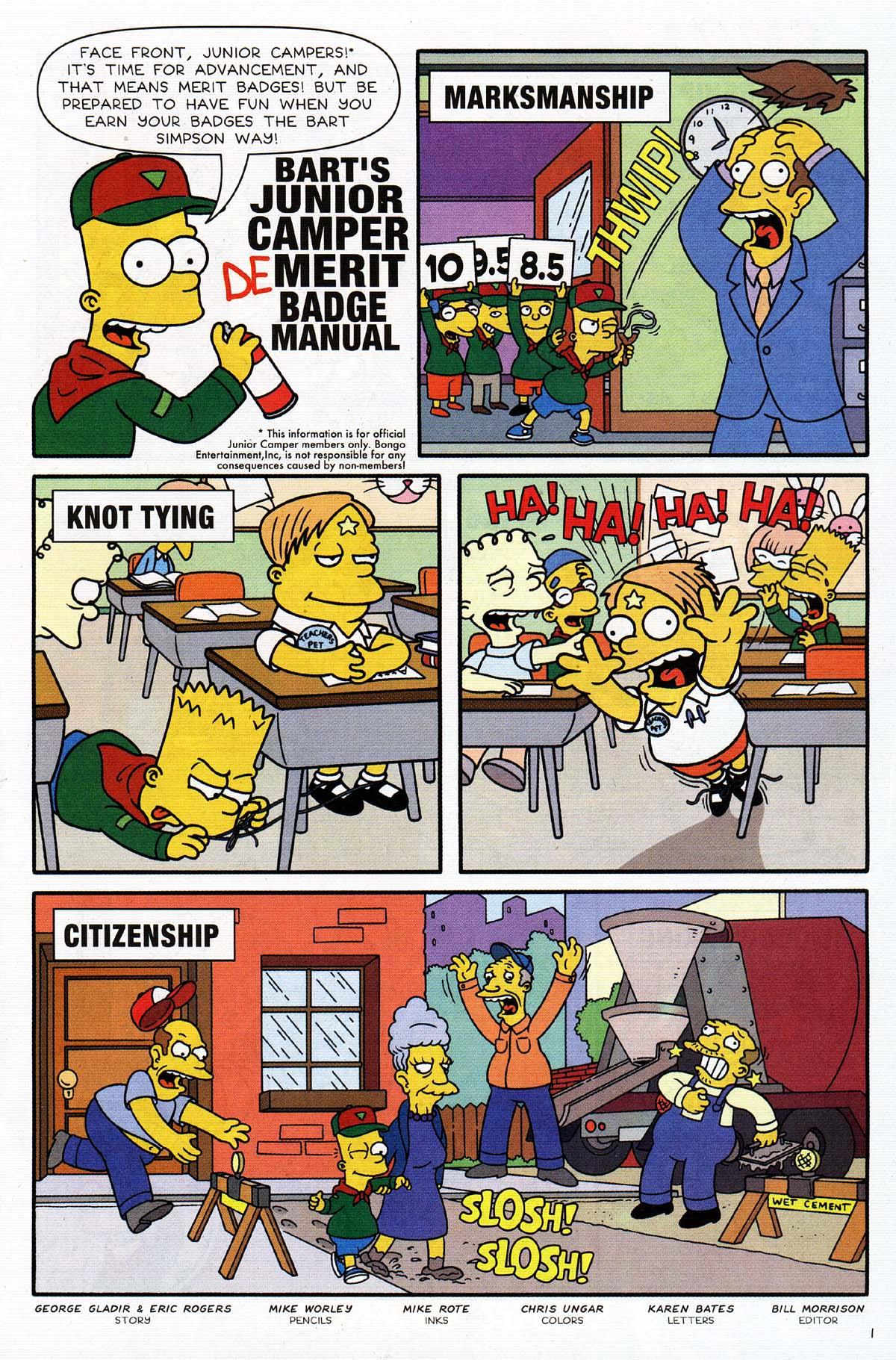 Read online Simpsons Comics Presents Bart Simpson comic -  Issue #15 - 15
