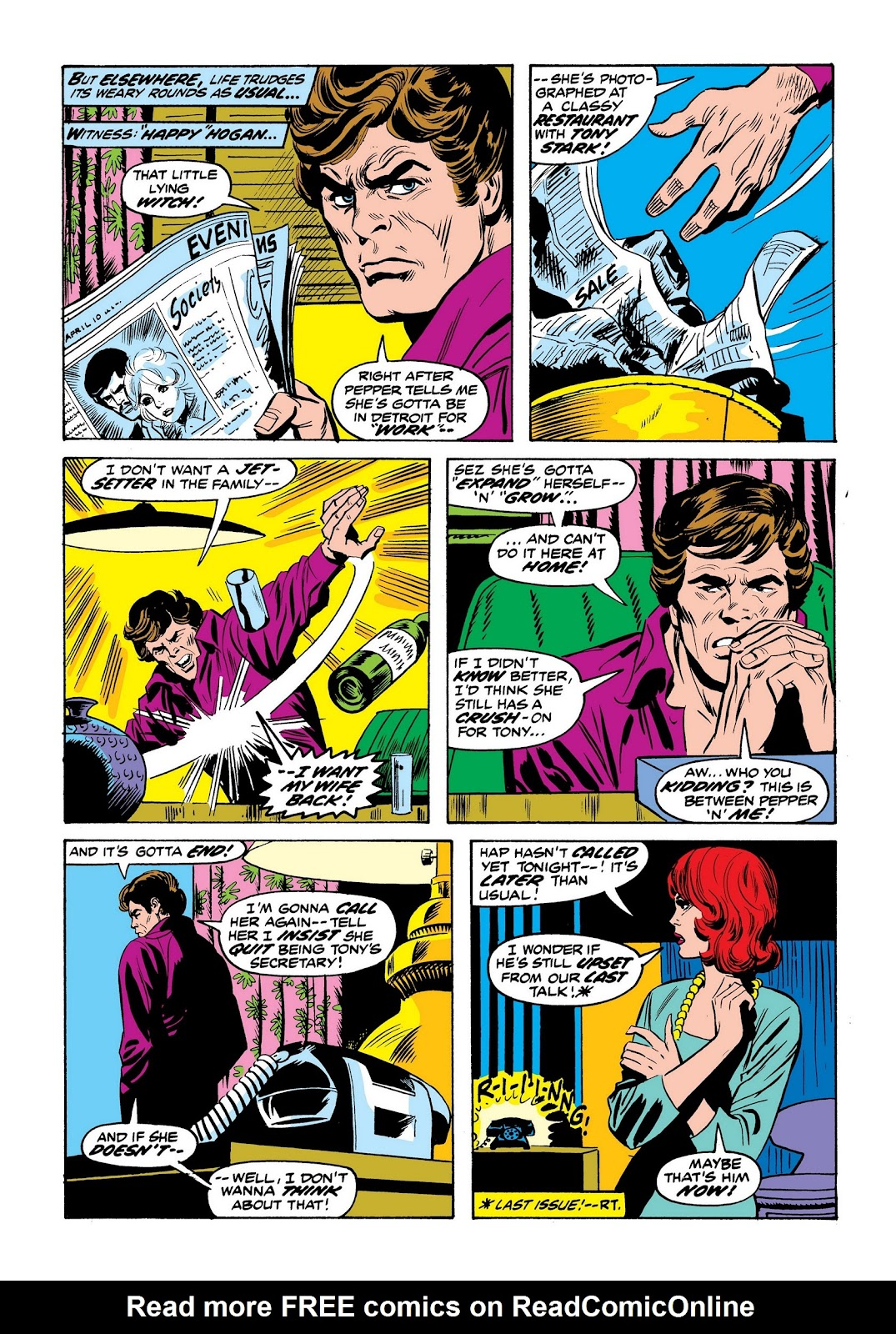 Read online Marvel Masterworks: The Invincible Iron Man comic -  Issue # TPB 9 (Part 2) - 64