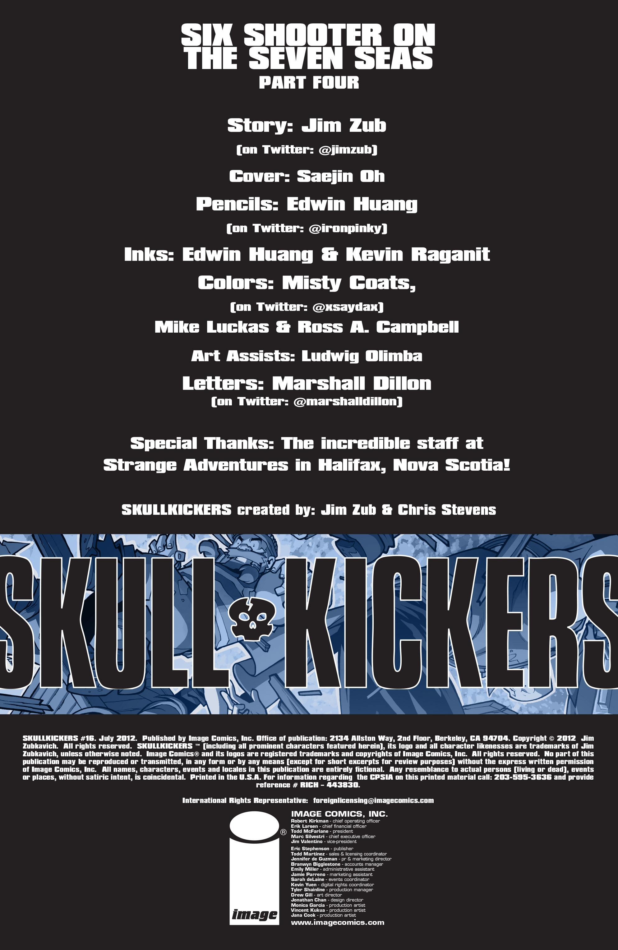 Read online Skullkickers comic -  Issue #16 - 2
