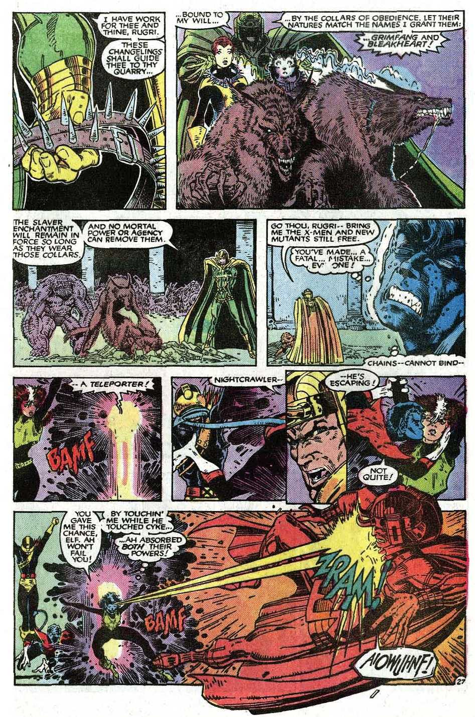 Read online Uncanny X-Men (1963) comic -  Issue # _Annual 9 - 29