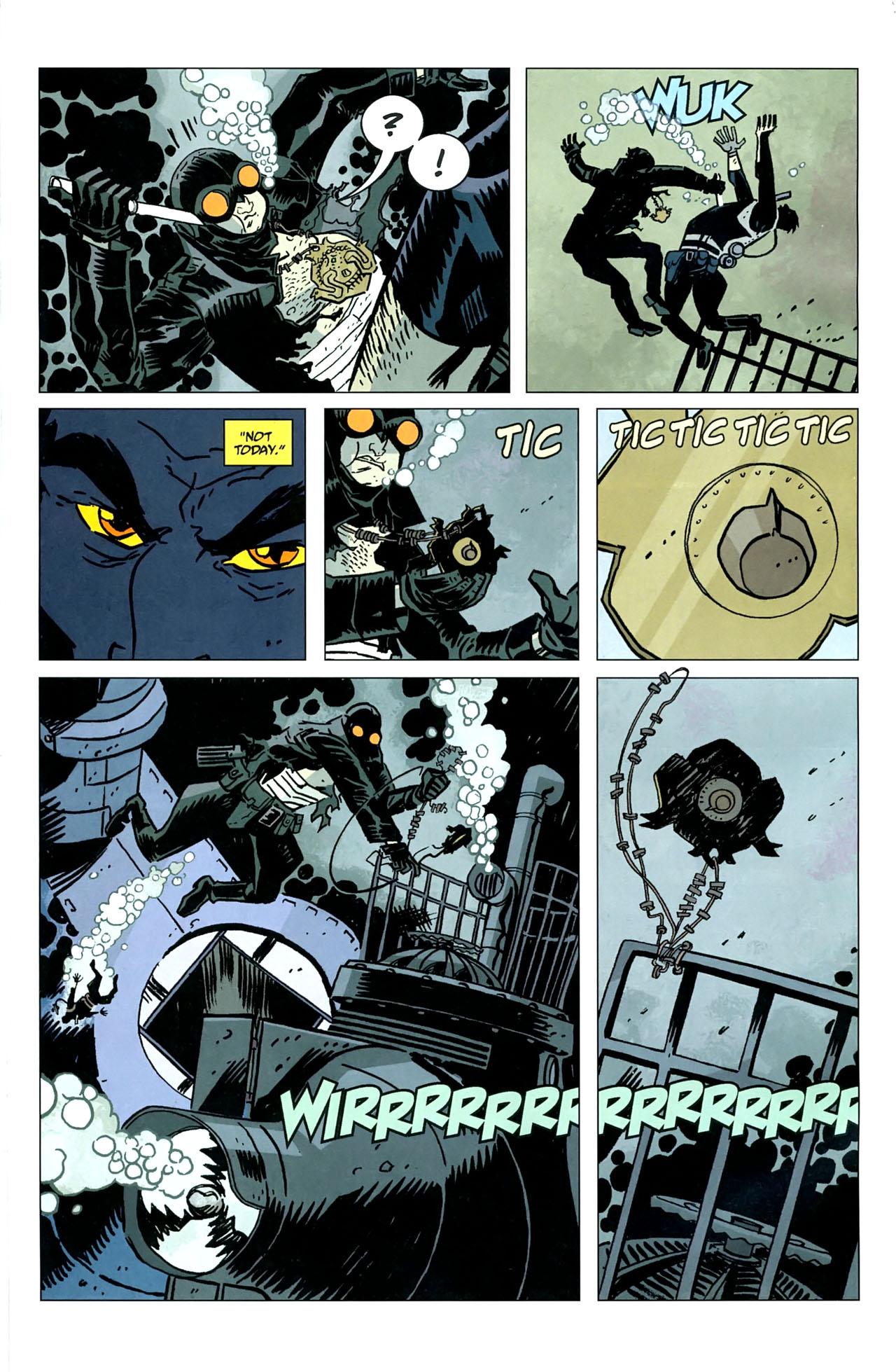 Read online Lobster Johnson: The Iron Prometheus comic -  Issue #5 - 18