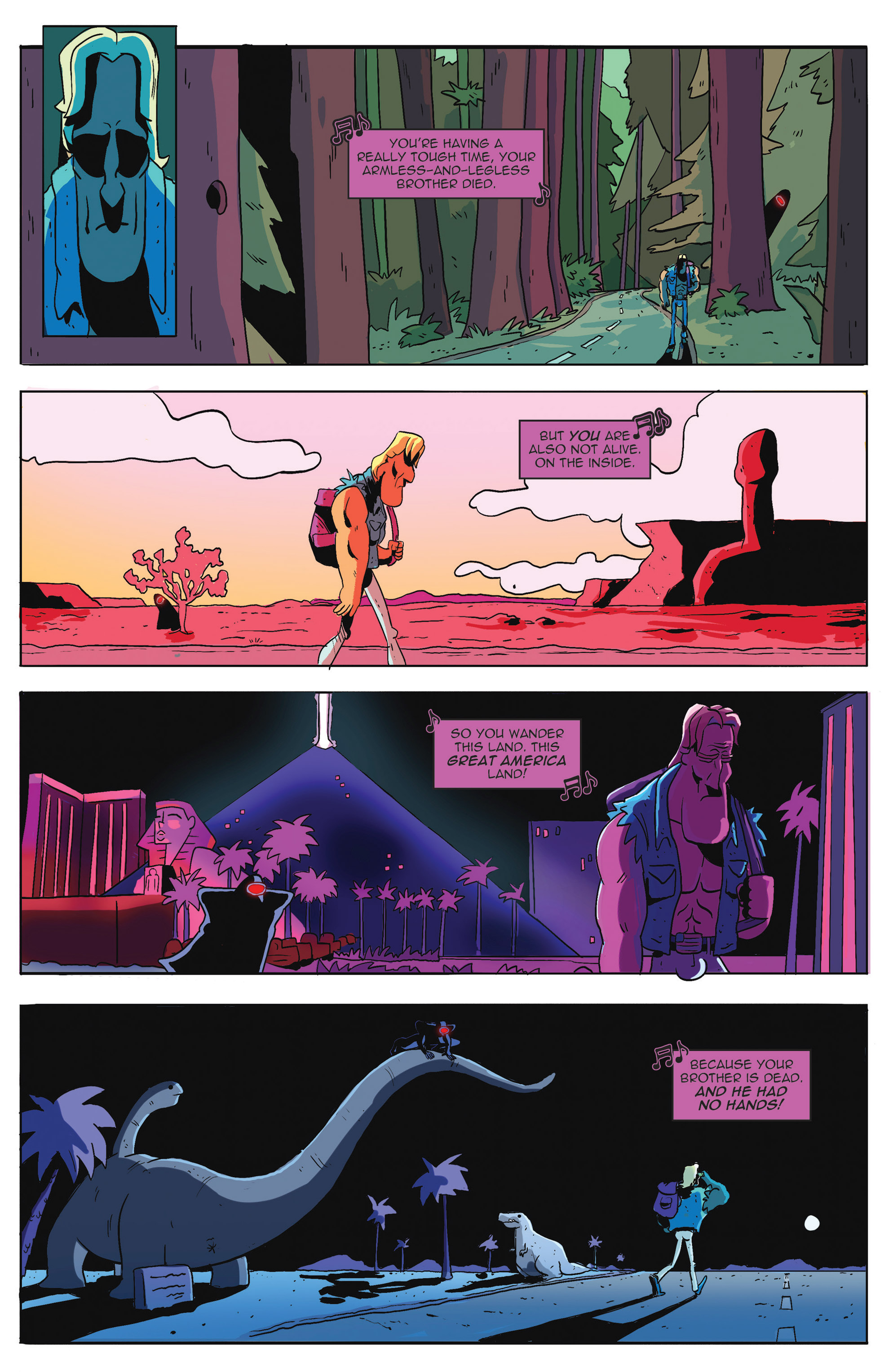Read online AmeriKarate comic -  Issue #2 - 3