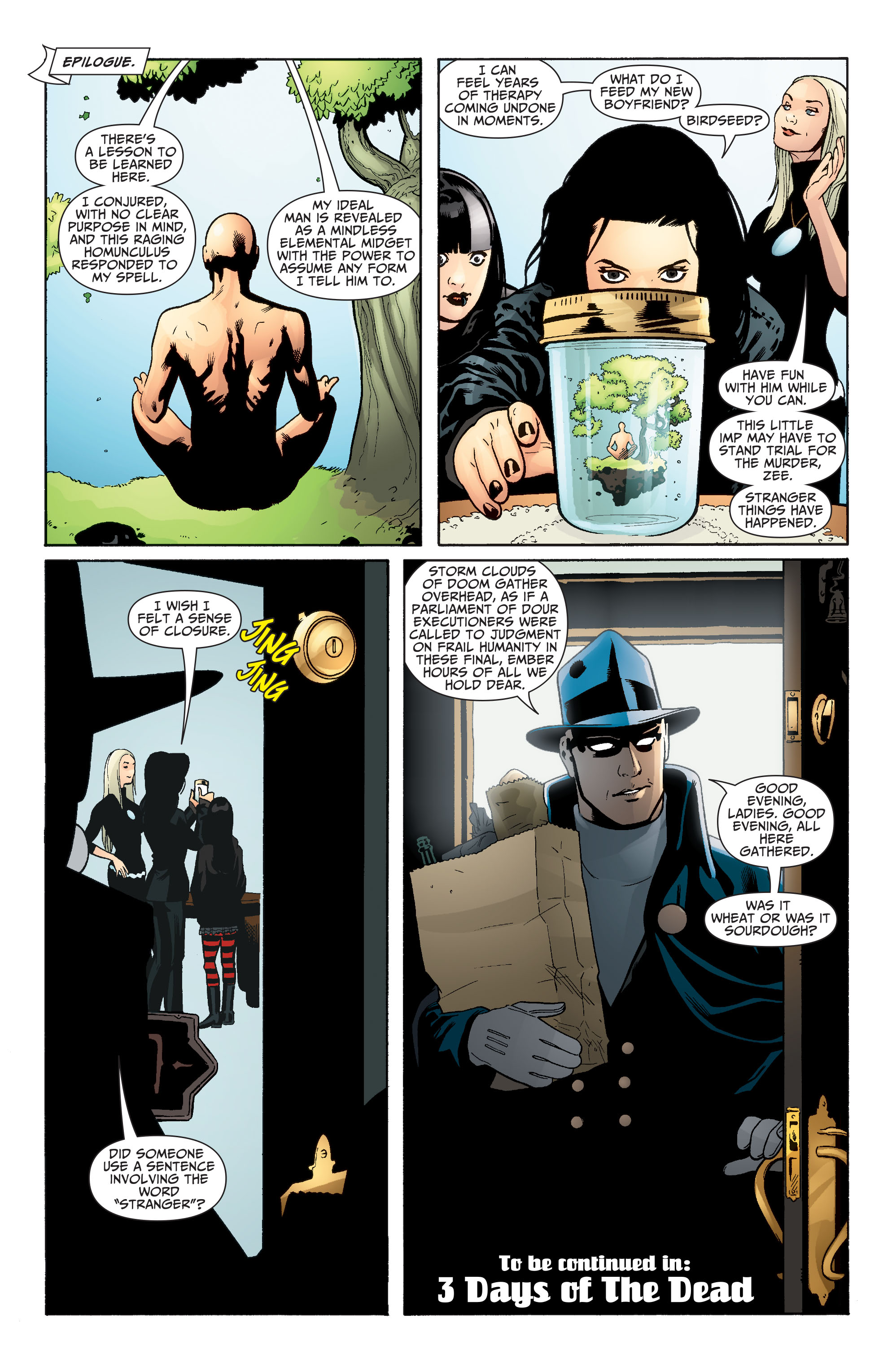 Read online Seven Soldiers: Zatanna comic -  Issue #2 - 23