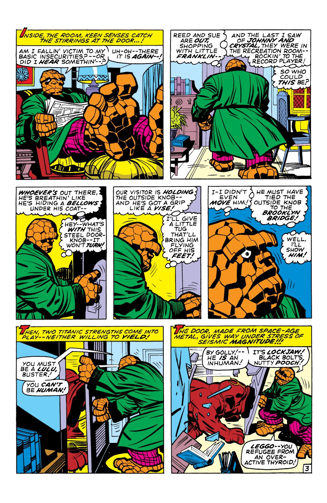 Read online Marvel Masterworks: The Inhumans comic -  Issue # TPB 1 (Part 1) - 83