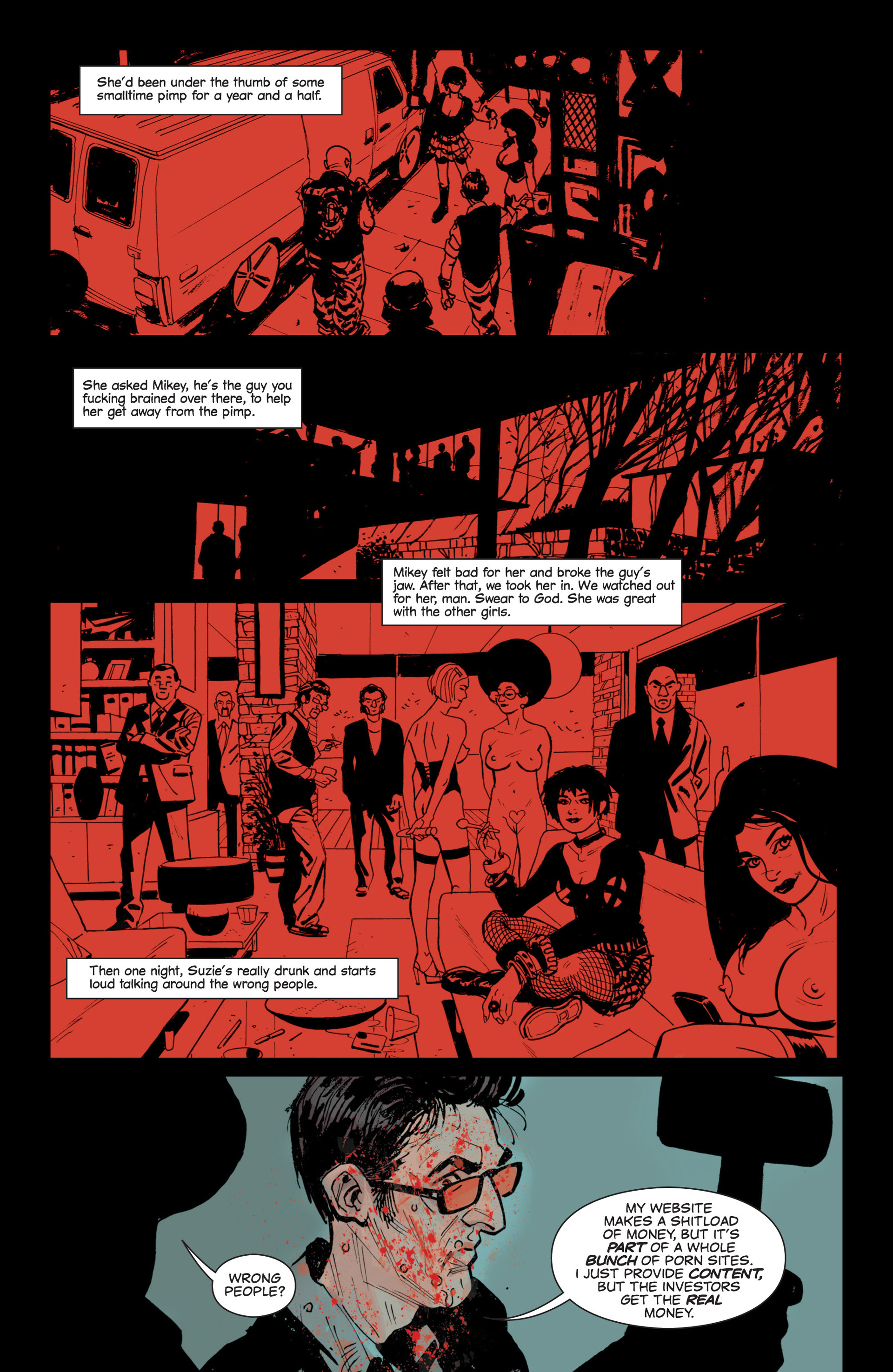 Read online Sex and Violence comic -  Issue # Full - 18