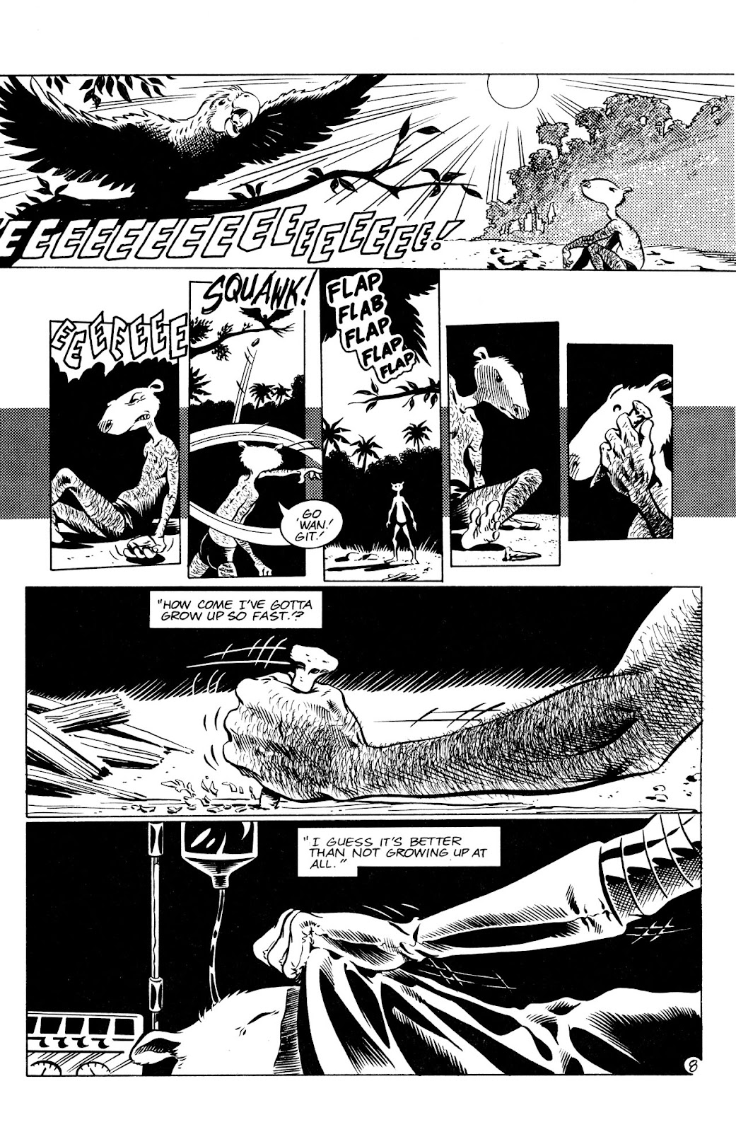 Adolescent Radioactive Black Belt Hamsters (1986) issue 8 - Page 9