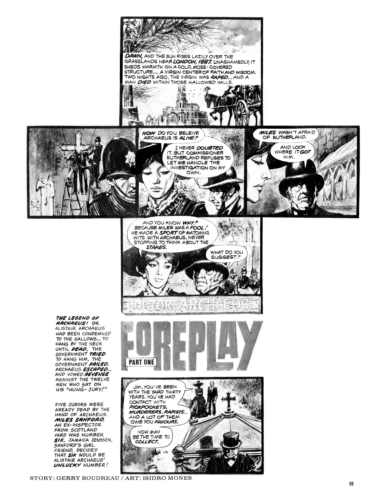 Read online Eerie Archives comic -  Issue # TPB 13 - 60