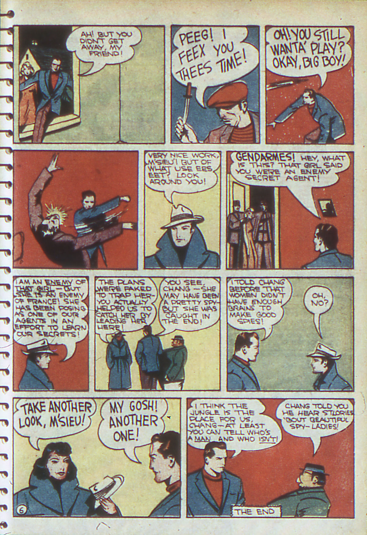 Read online Adventure Comics (1938) comic -  Issue #54 - 54