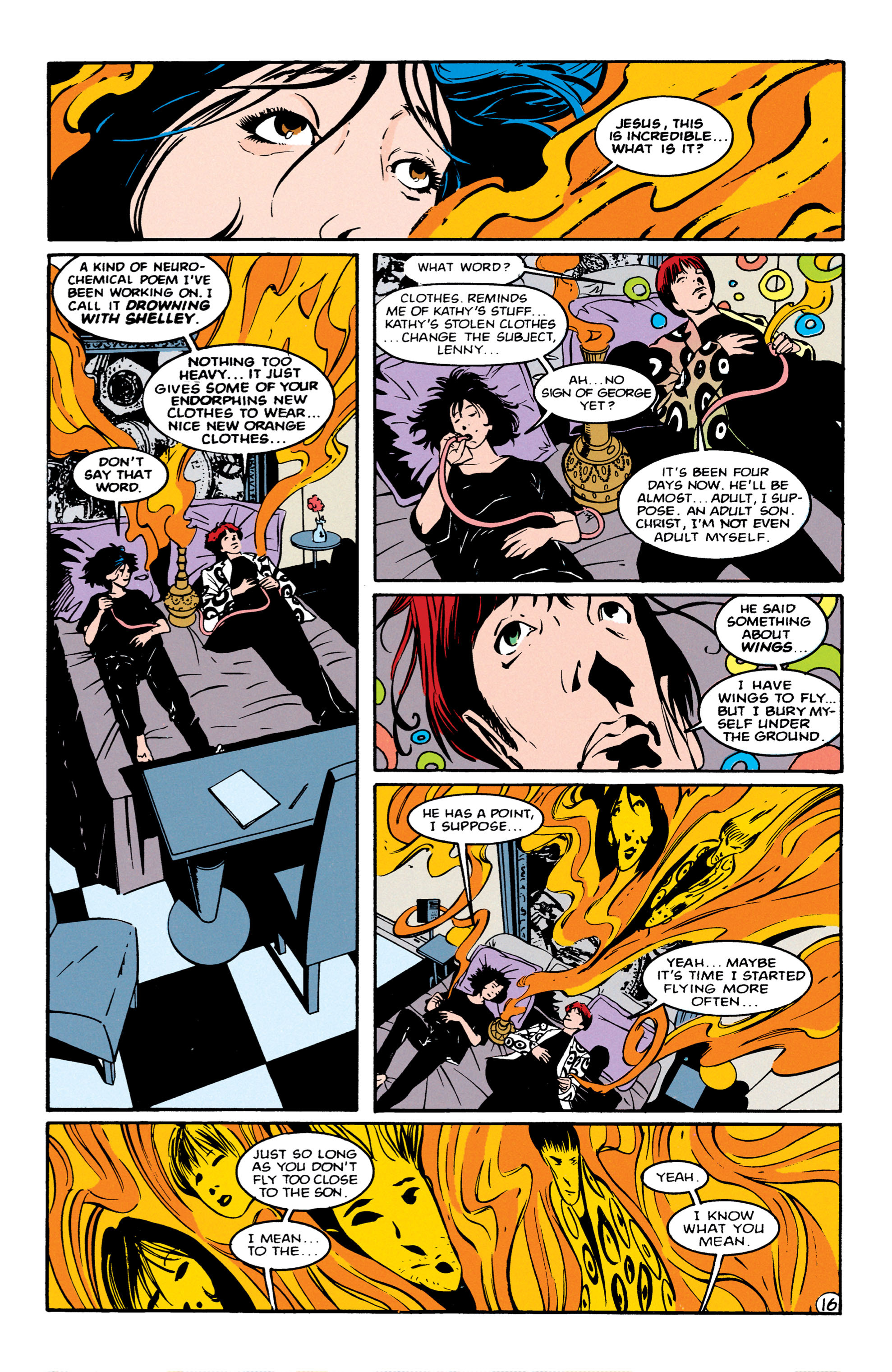 Read online Shade, the Changing Man comic -  Issue #56 - 17