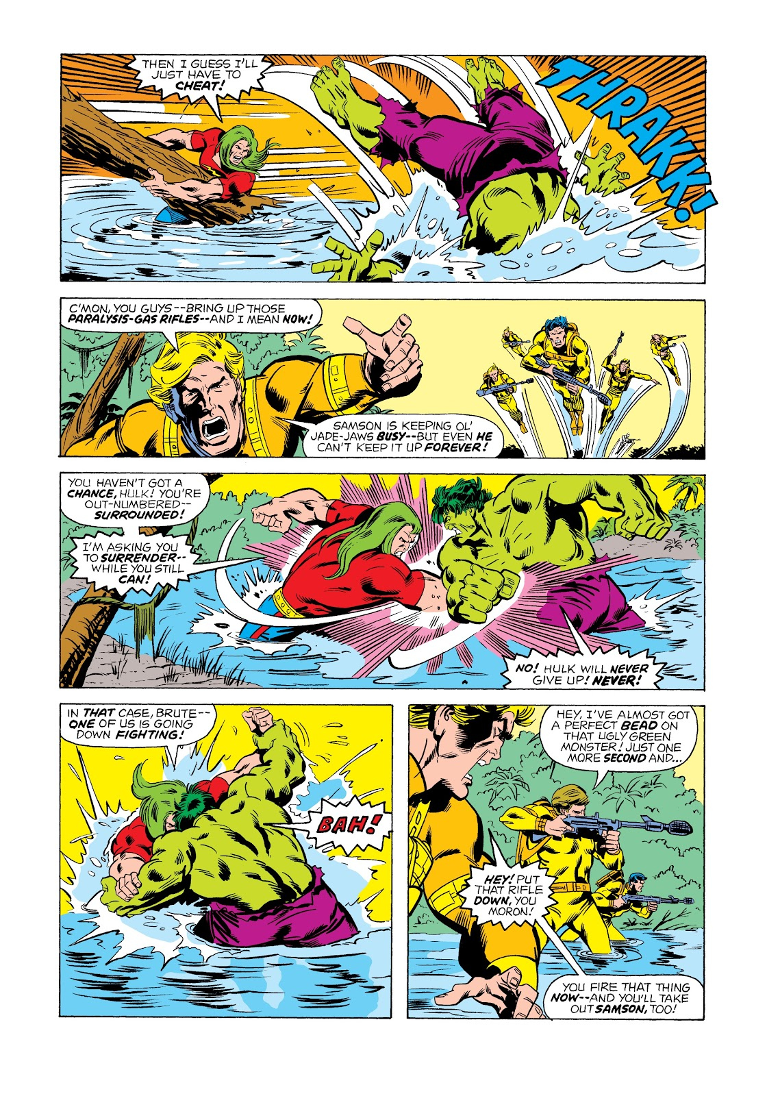 Read online Marvel Masterworks: The Incredible Hulk comic -  Issue # TPB 12 (Part 1) - 97