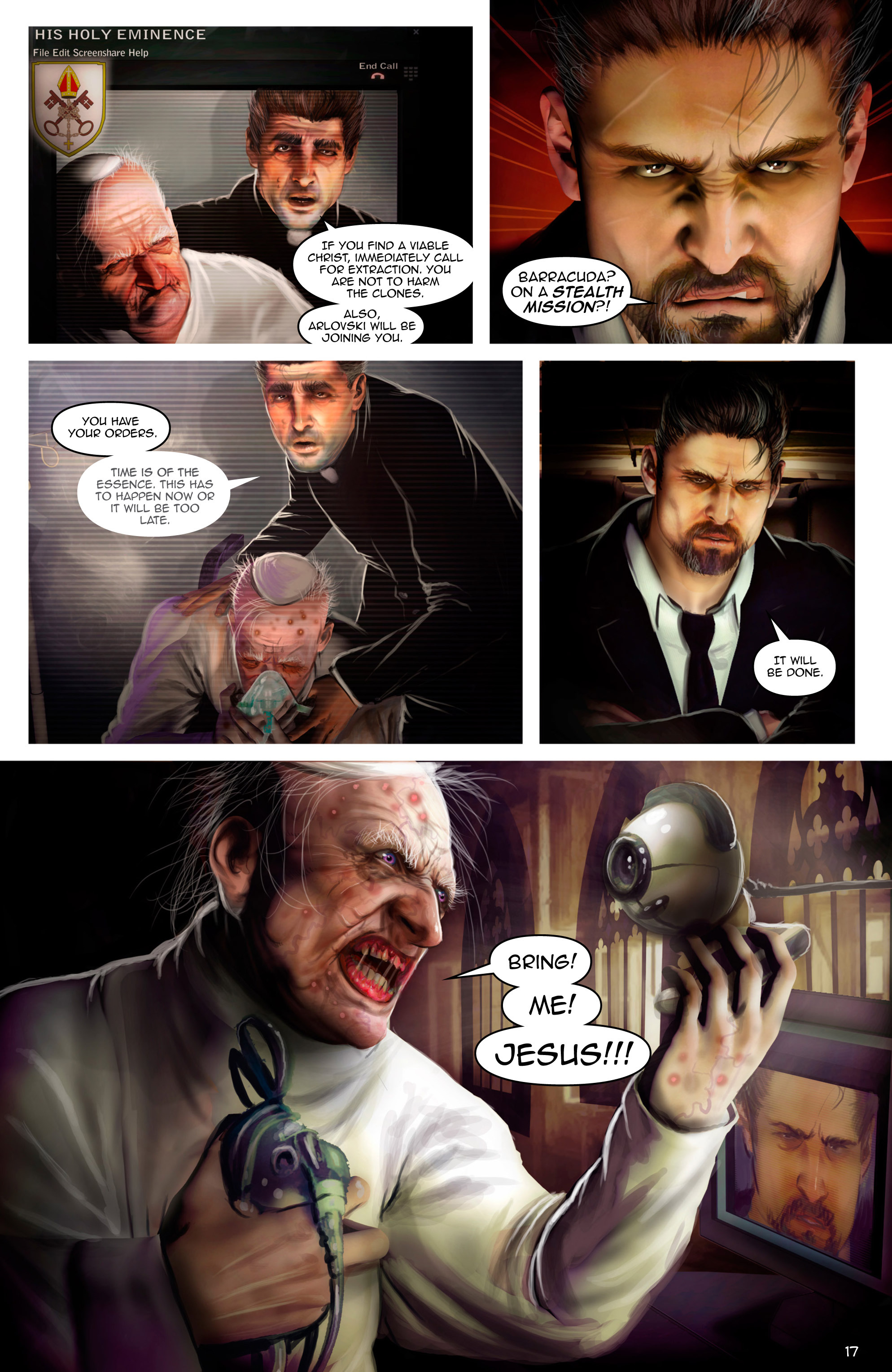 Read online Escape from Jesus Island comic -  Issue #2 - 17