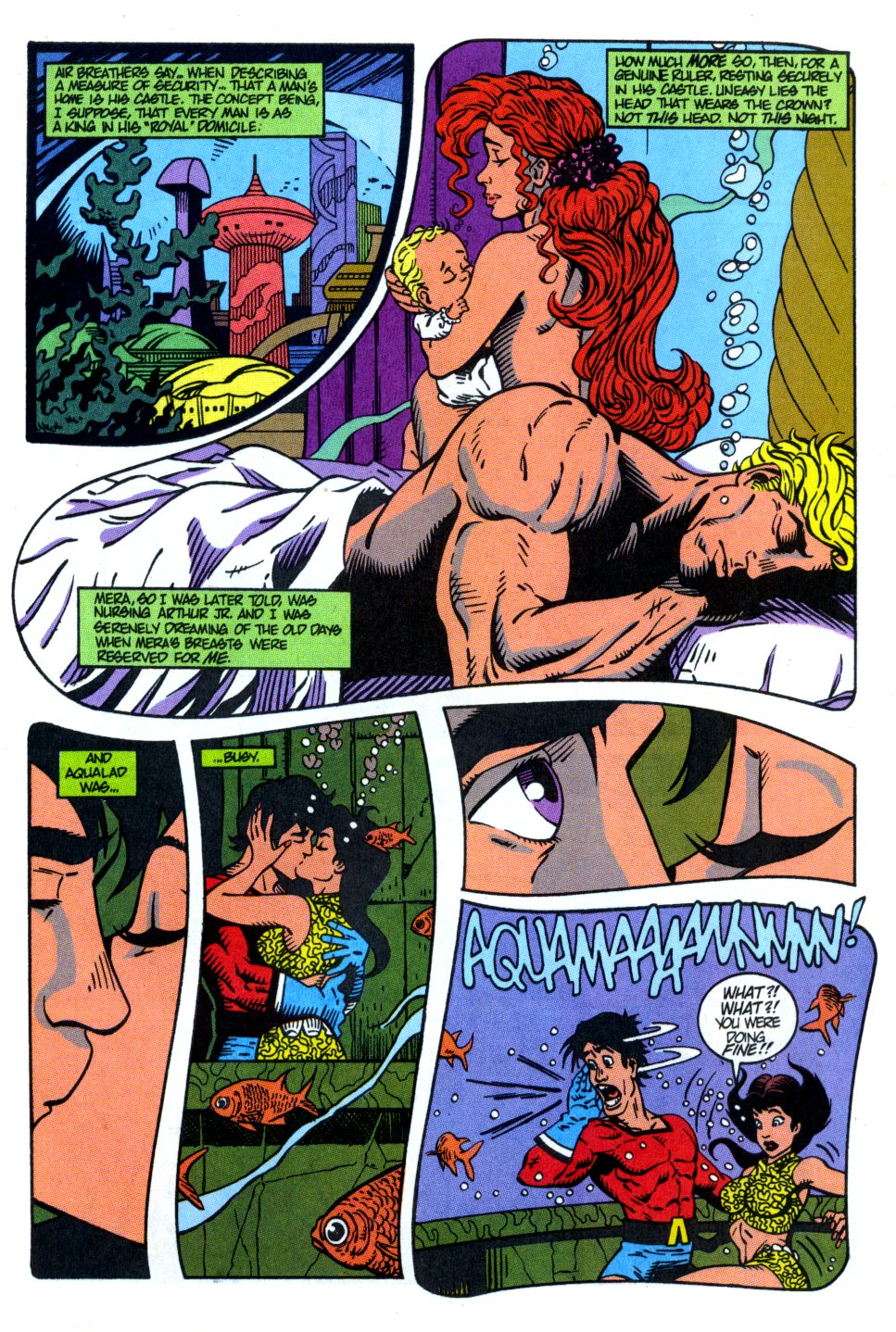 Read online Aquaman: Time and Tide comic -  Issue #4 - 12