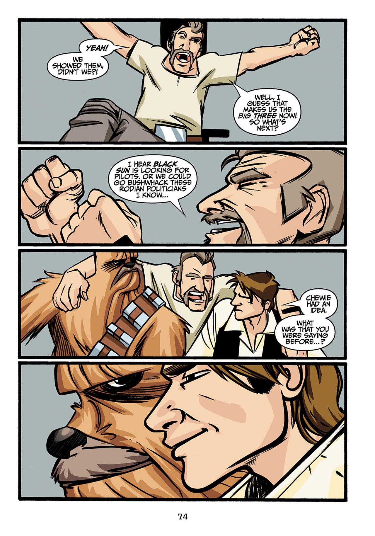Read online Star Wars Omnibus comic -  Issue # Vol. 33 - 76