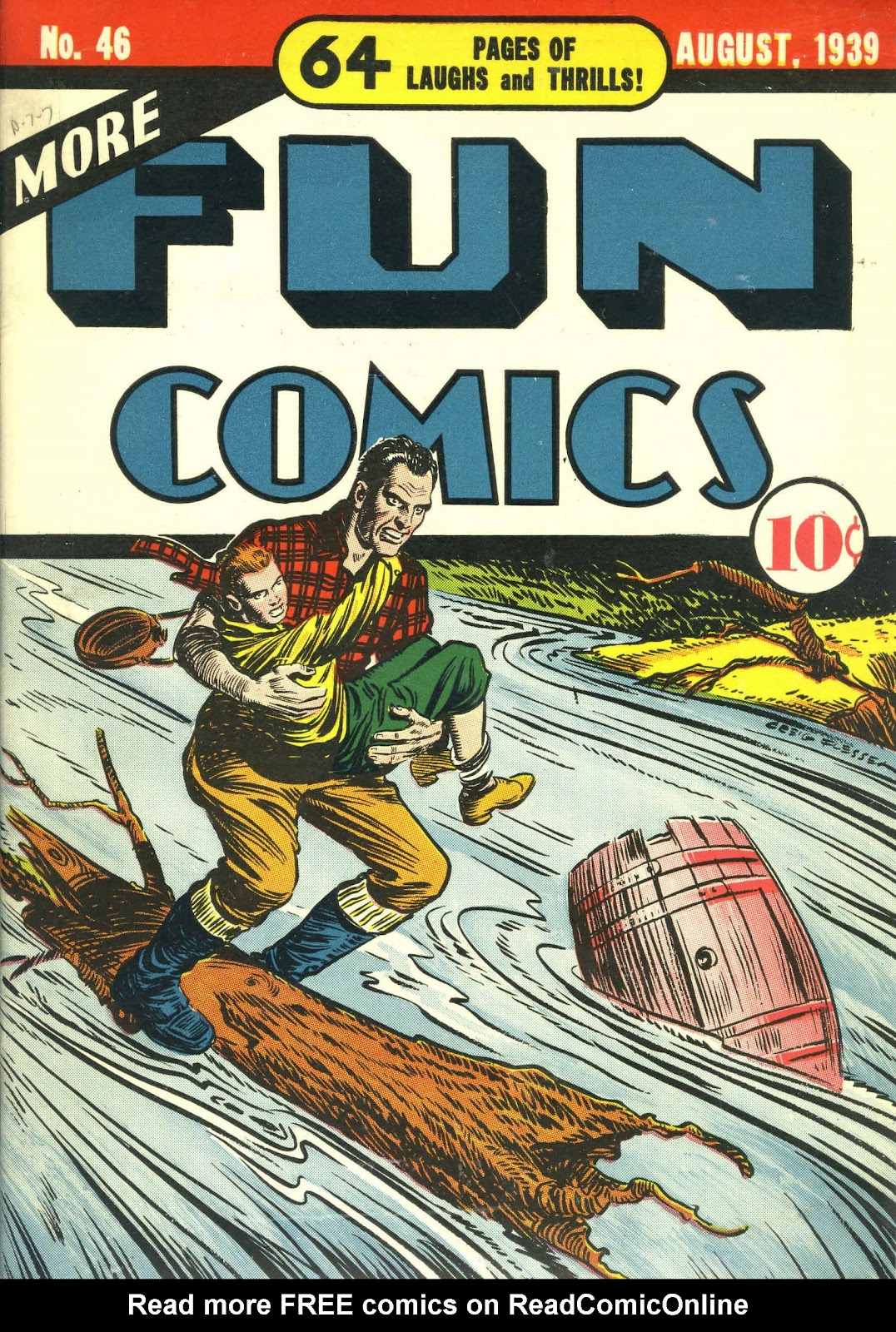 More Fun Comics 46 Page 1