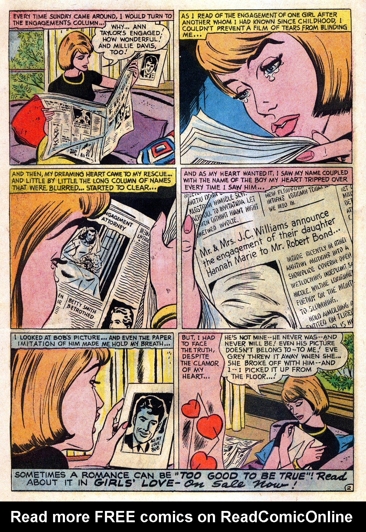 Read online Secret Hearts comic -  Issue #109 - 14