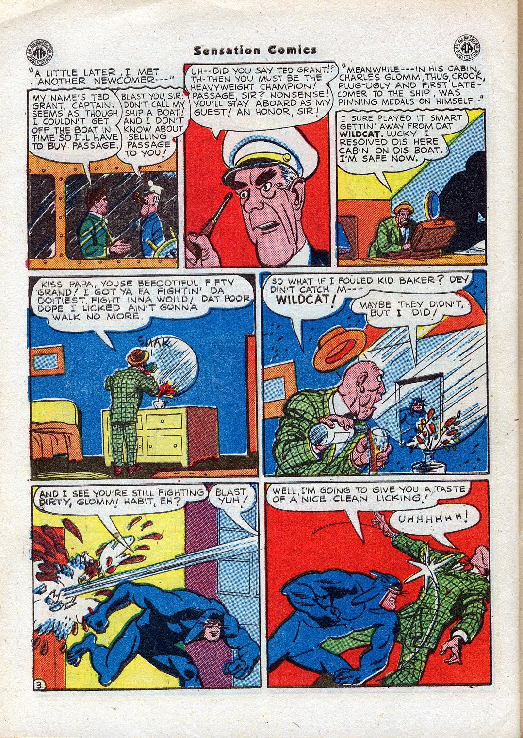 Read online Sensation (Mystery) Comics comic -  Issue #44 - 44
