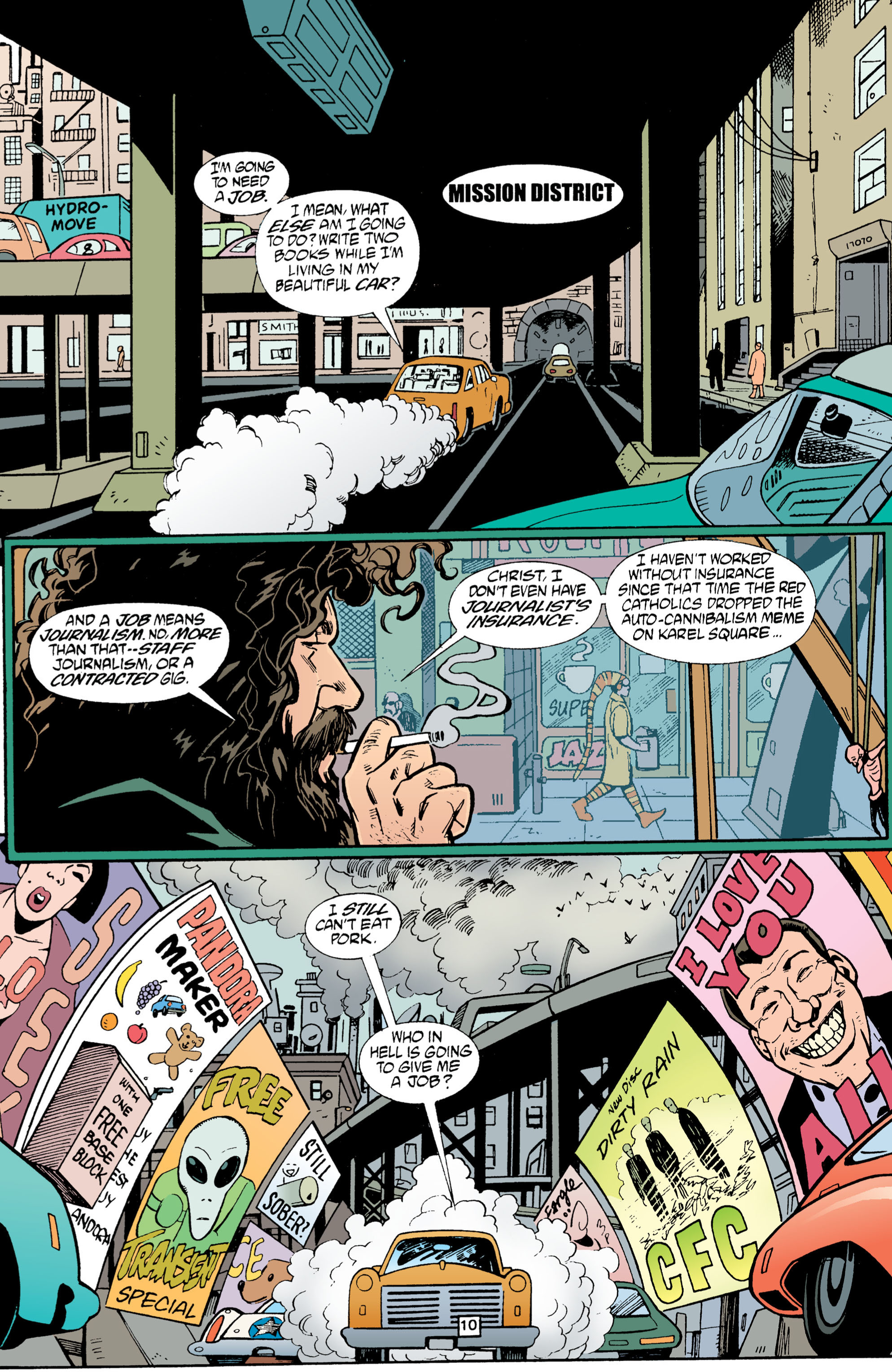 Read online Transmetropolitan comic -  Issue #1 - 11