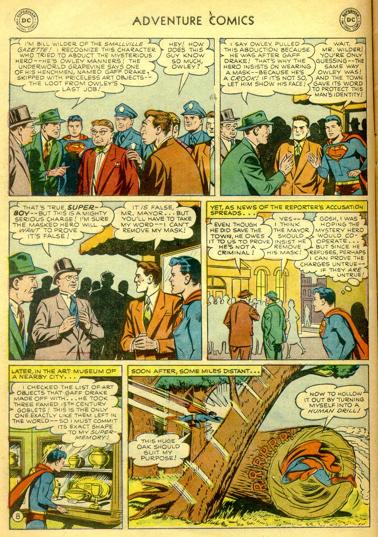 Read online Adventure Comics (1938) comic -  Issue #181 - 9