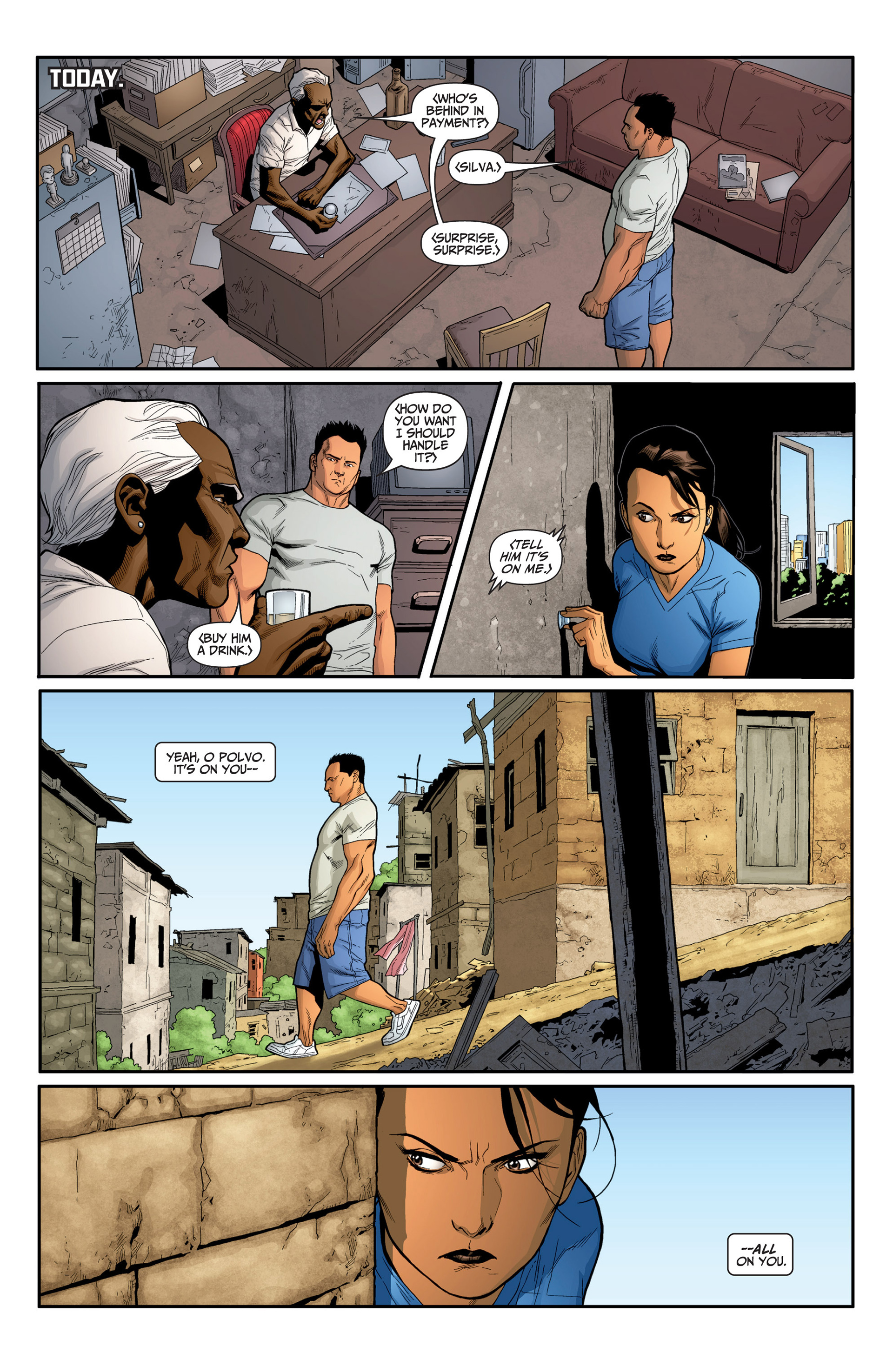 Read online Archer and Armstrong comic -  Issue #24 - 7