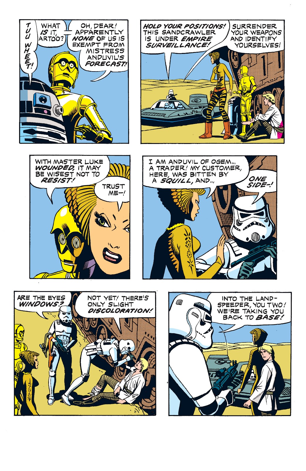 Read online Star Wars Legends: The Newspaper Strips - Epic Collection comic -  Issue # TPB (Part 2) - 38