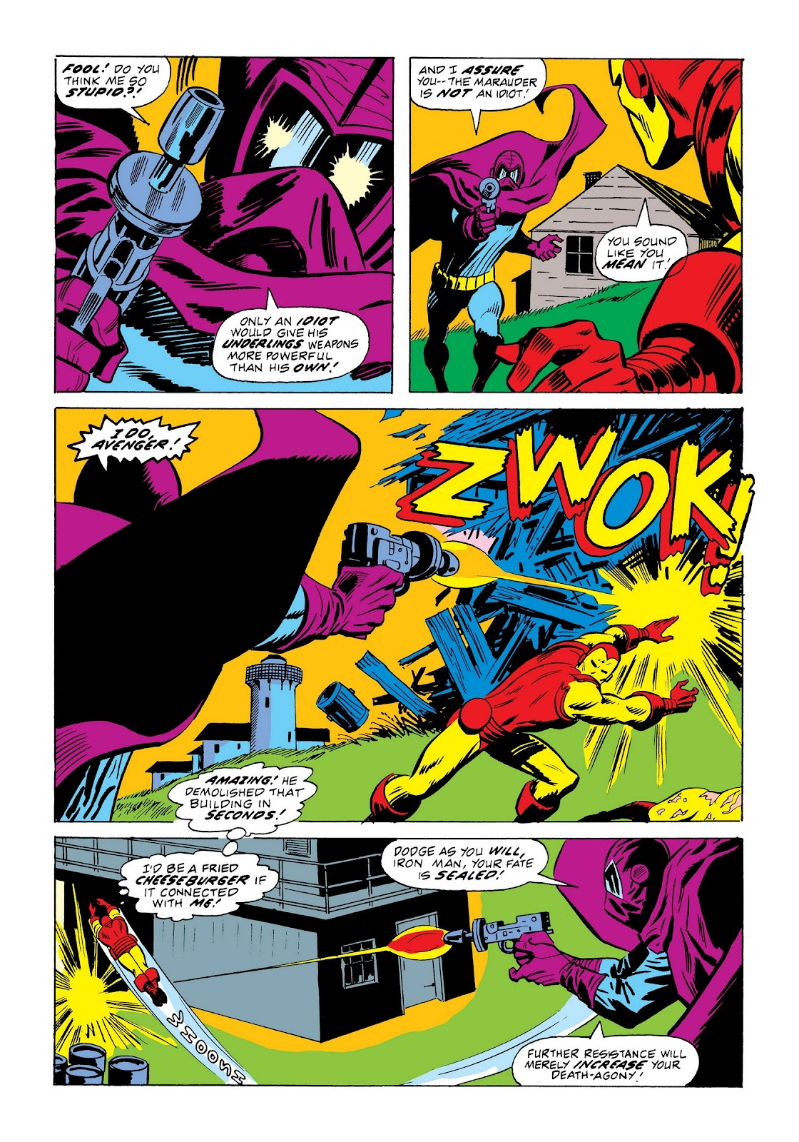 Read online Marvel Masterworks: The Invincible Iron Man comic -  Issue # TPB 9 (Part 2) - 49