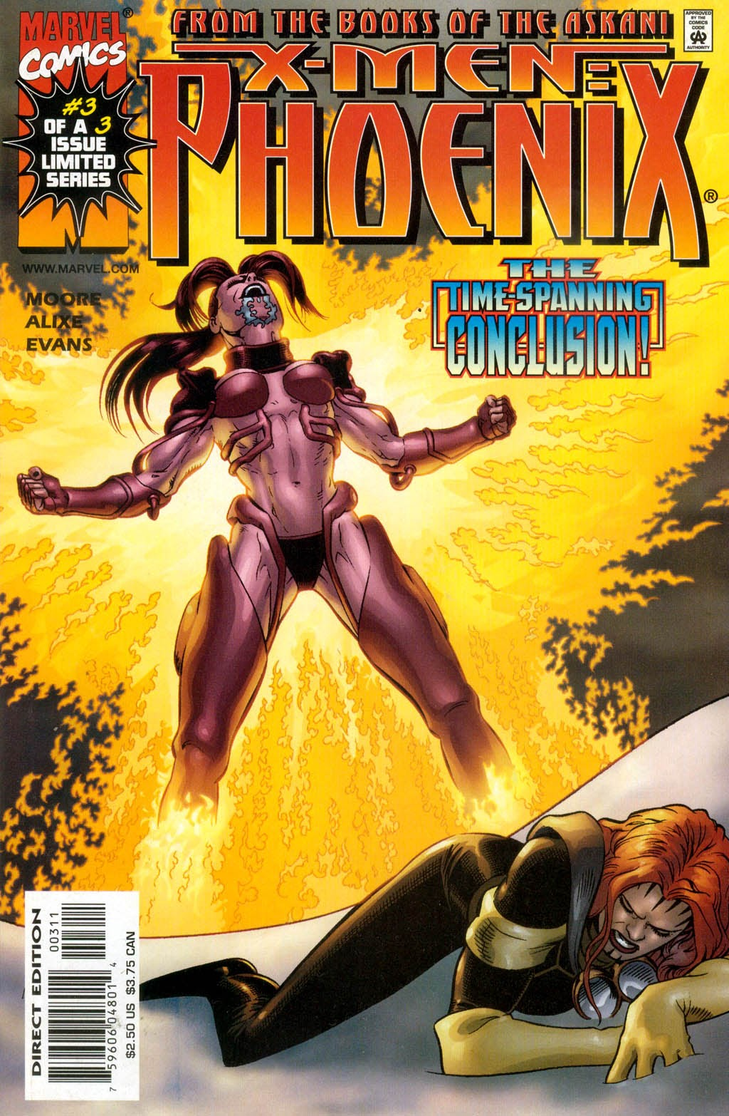 X-Men: Phoenix 3 Page 1