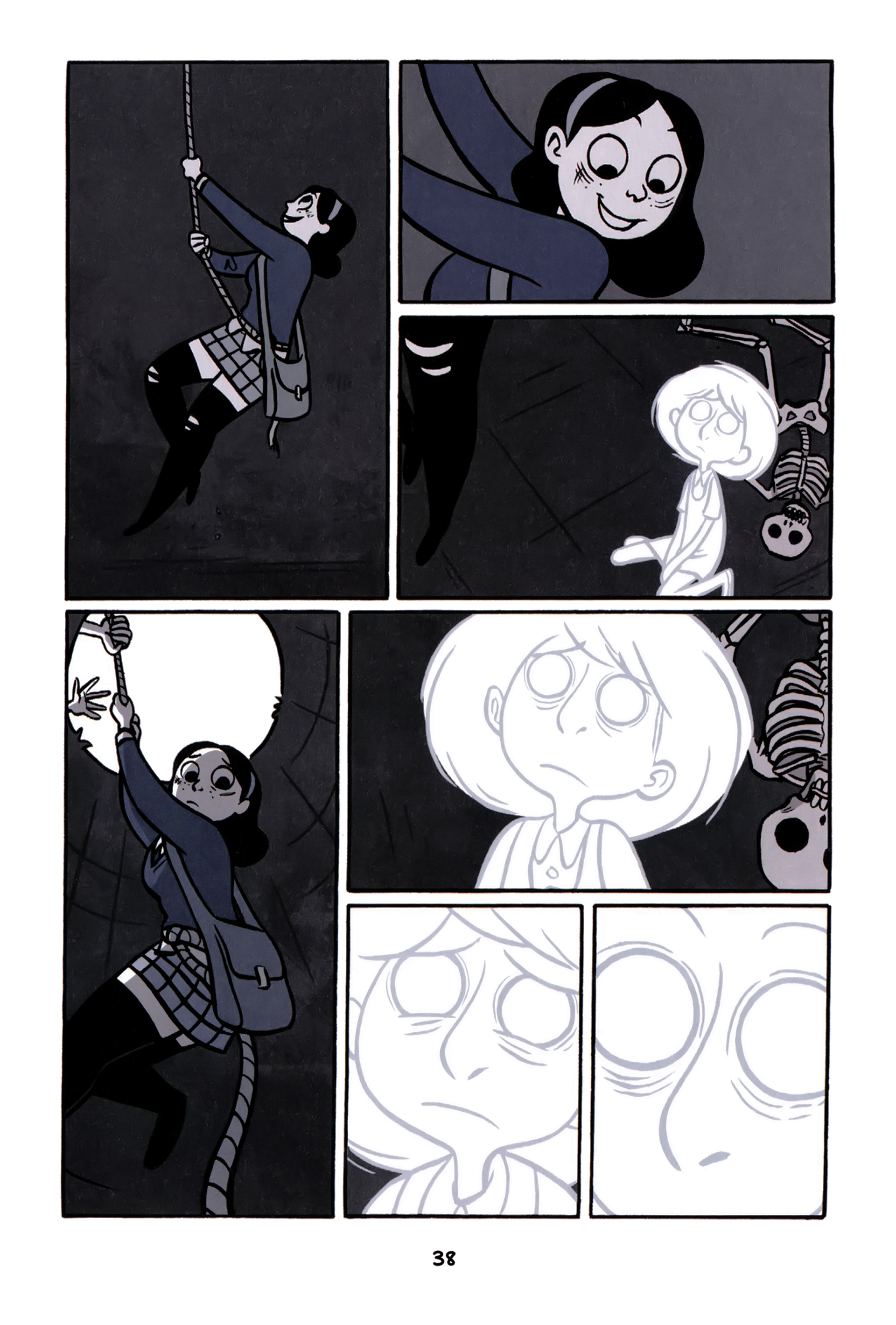 Read online Anya's Ghost comic -  Issue #1 - 39