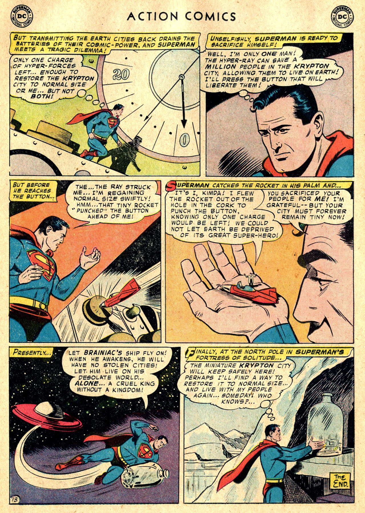 Read online Action Comics (1938) comic -  Issue #242 - 15