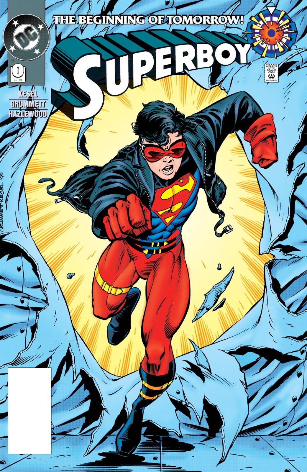 Superboy (1994) 0 Page 1