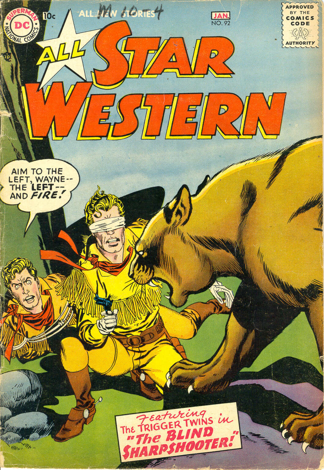 Read online All-Star Western (1951) comic -  Issue #92 - 1