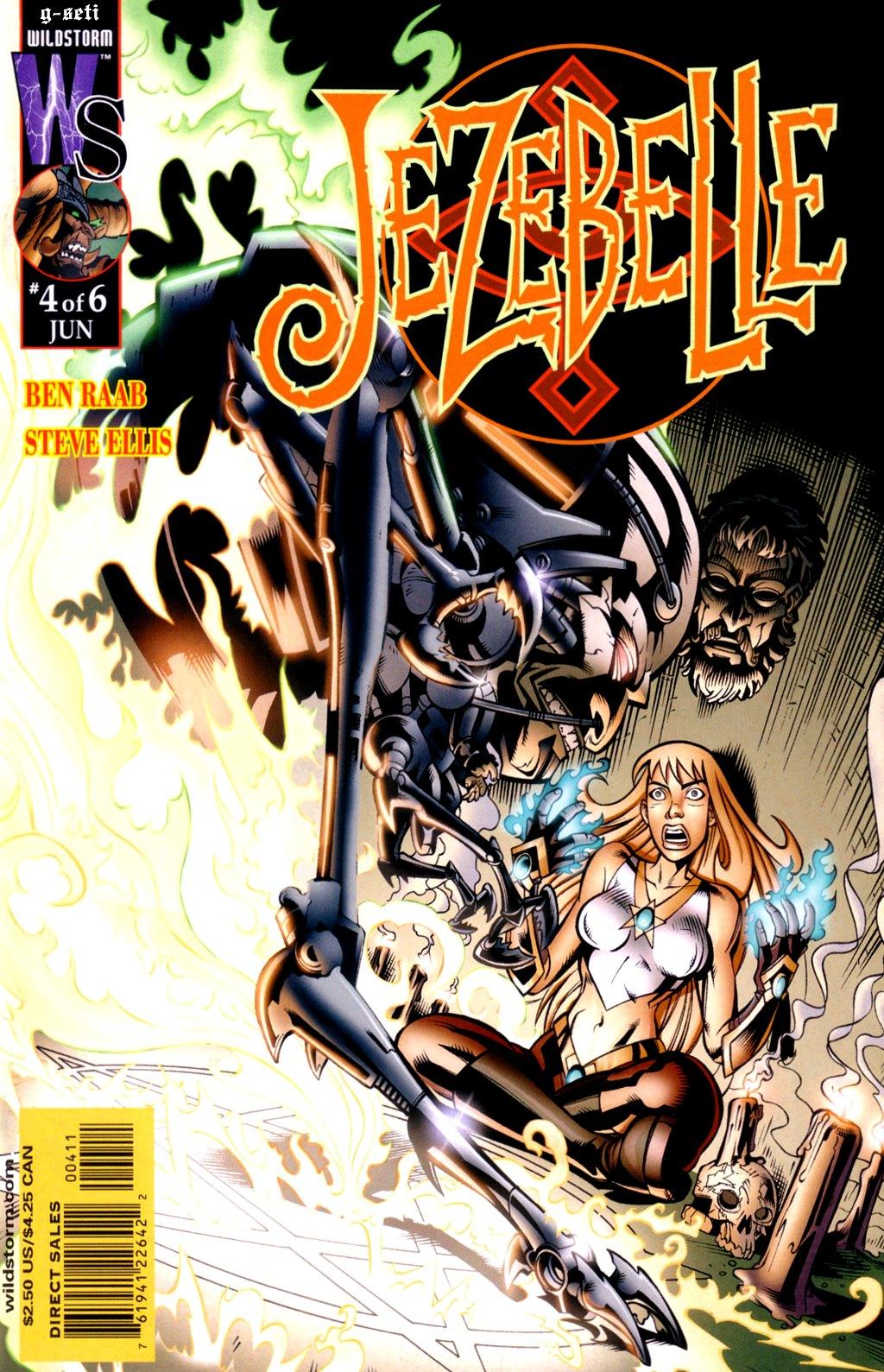 Read online Jezebelle comic -  Issue #4 - 1