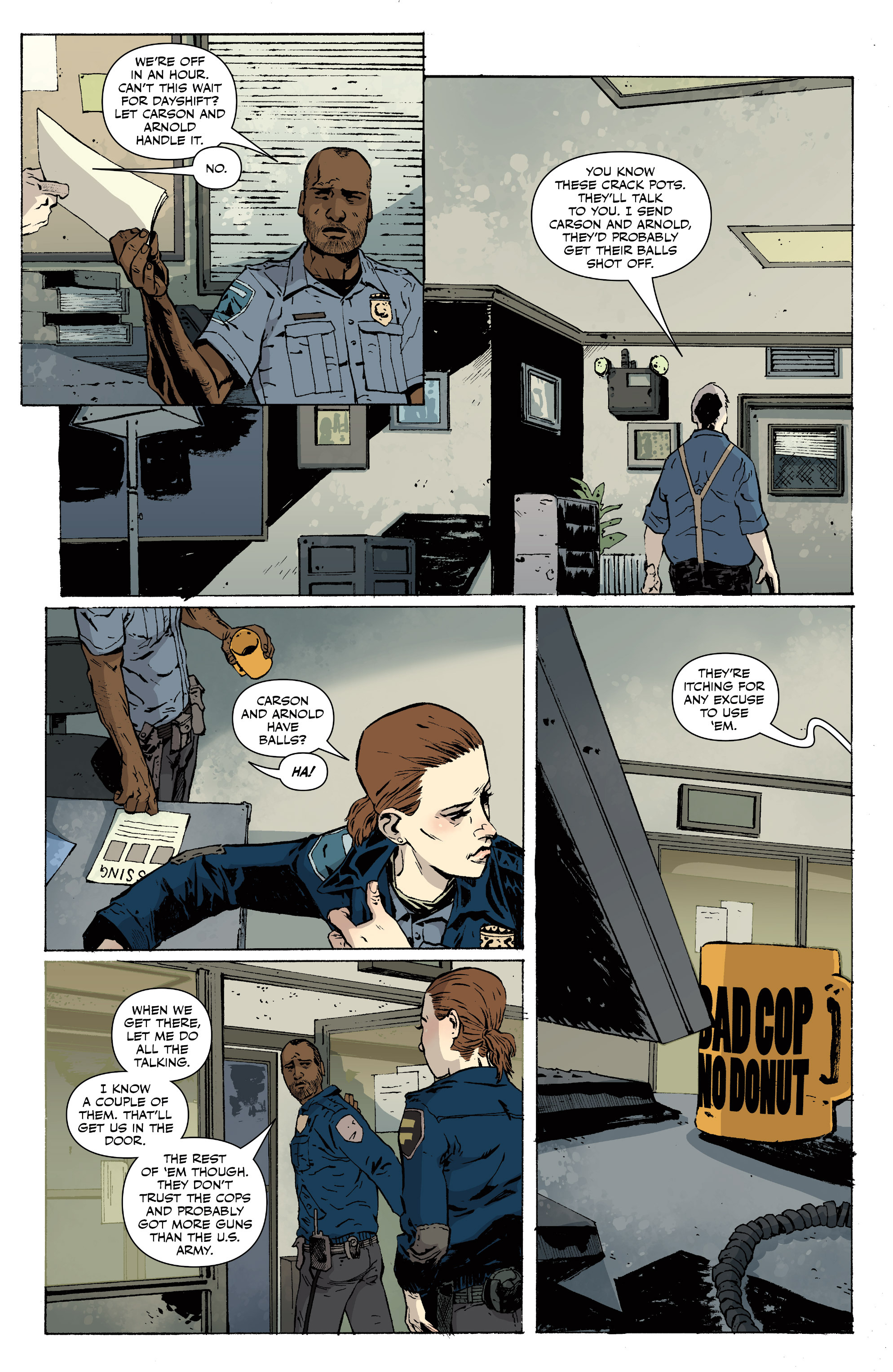 Read online Sheltered comic -  Issue #11 - 15