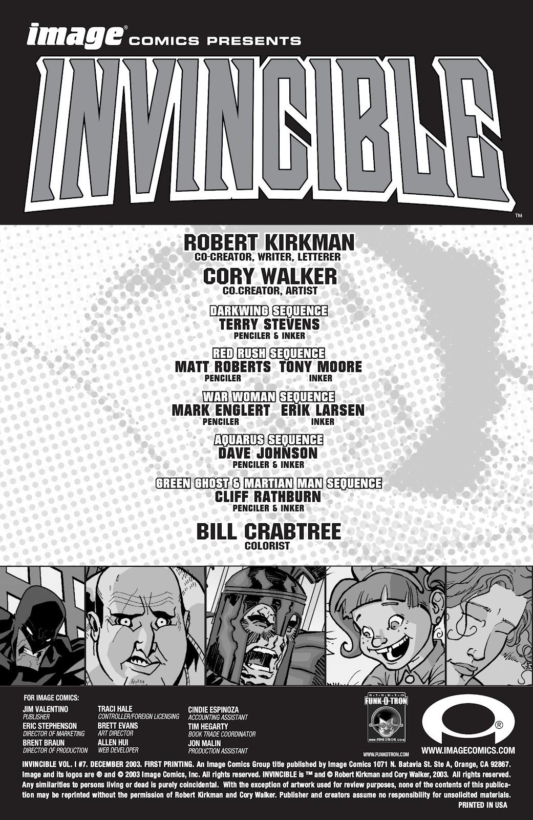 Invincible (2003) 7 Page 2