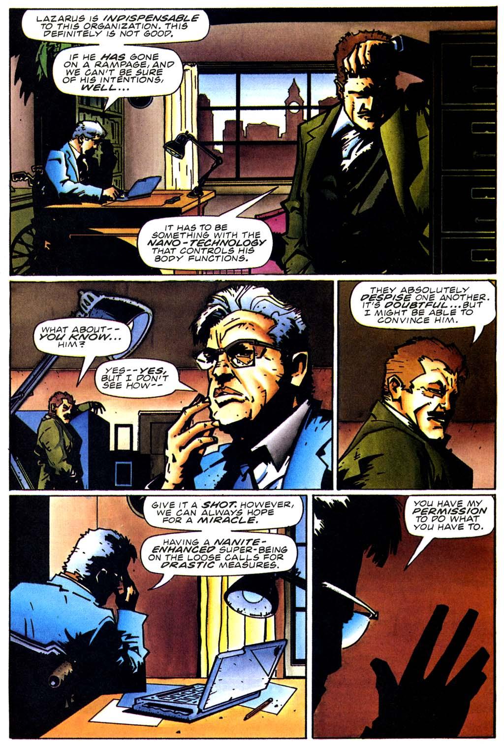 Read online Secret Weapons comic -  Issue #20 - 10
