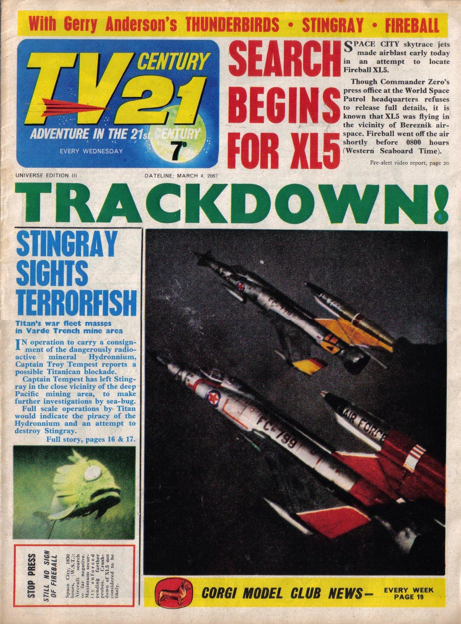 Read online TV Century 21 (TV 21) comic -  Issue #111 - 1
