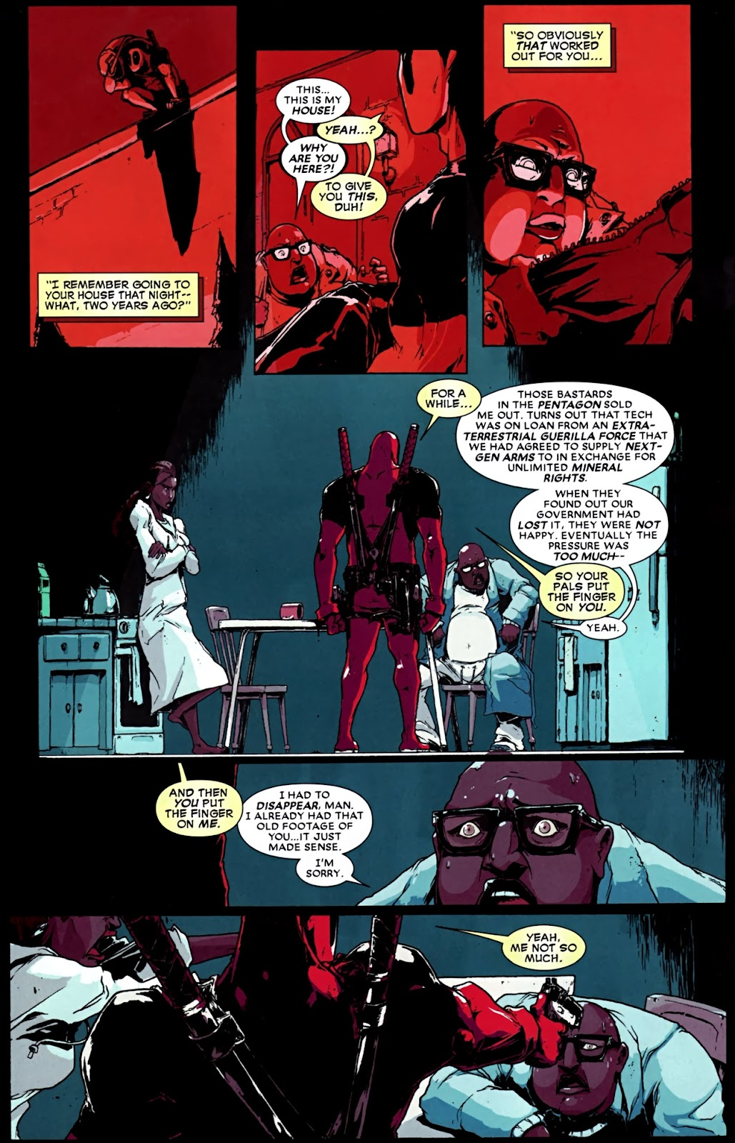 Read online Deadpool (2008) comic -  Issue #32 - 11