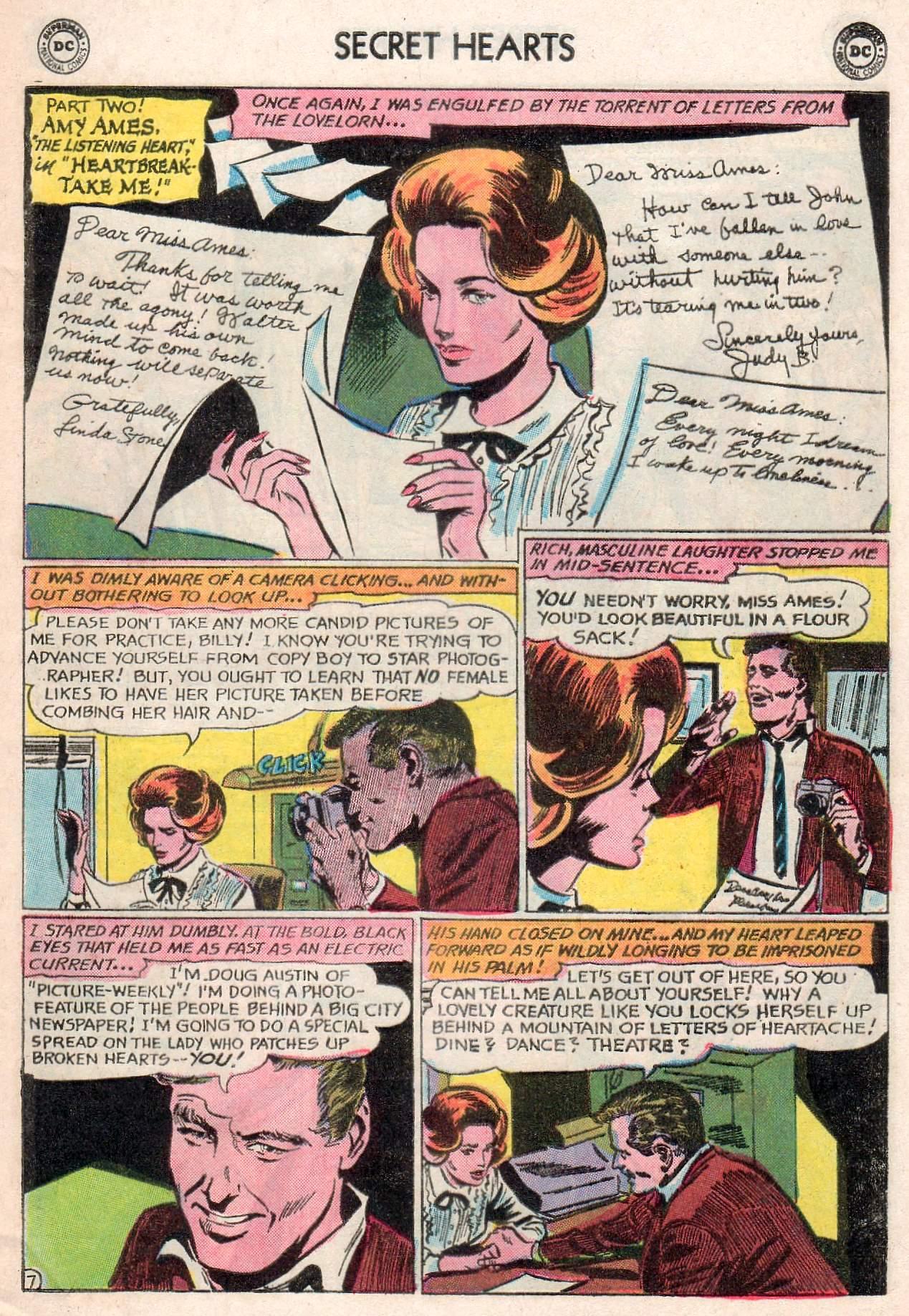 Read online Secret Hearts comic -  Issue #107 - 9