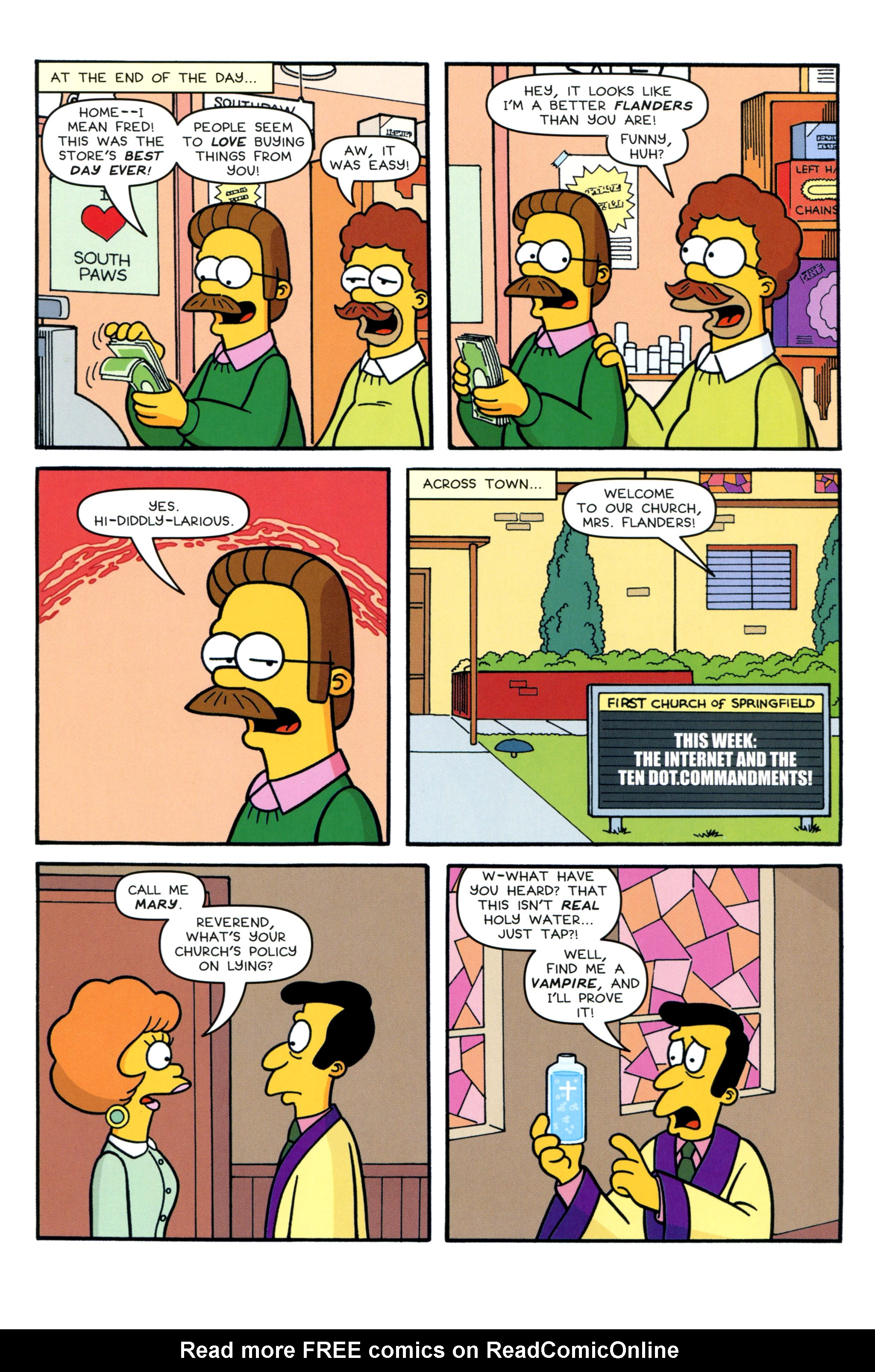Read online Simpsons Comics comic -  Issue #213 - 15