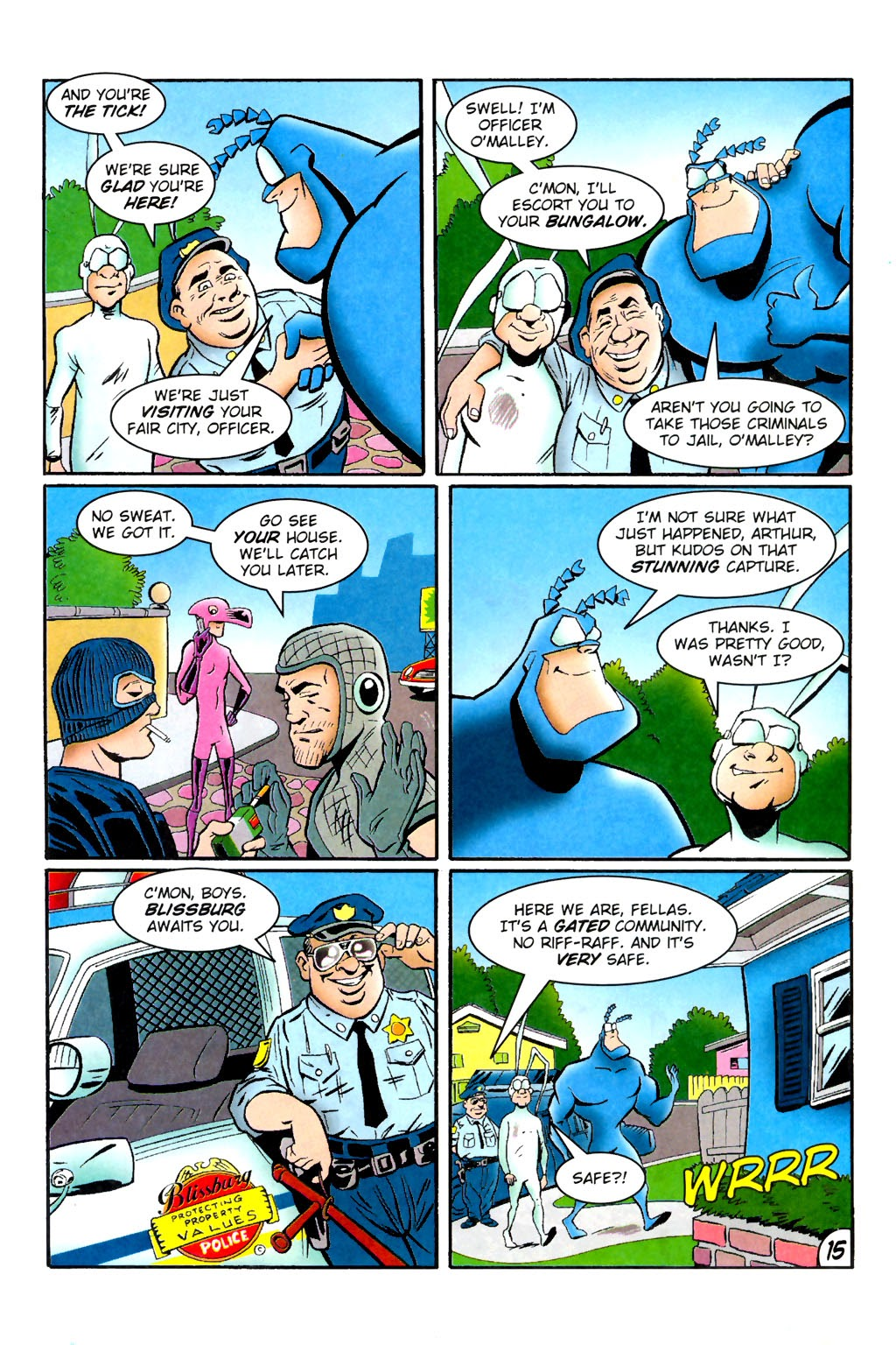 Read online The Tick: Days of Drama comic -  Issue #1 - 19