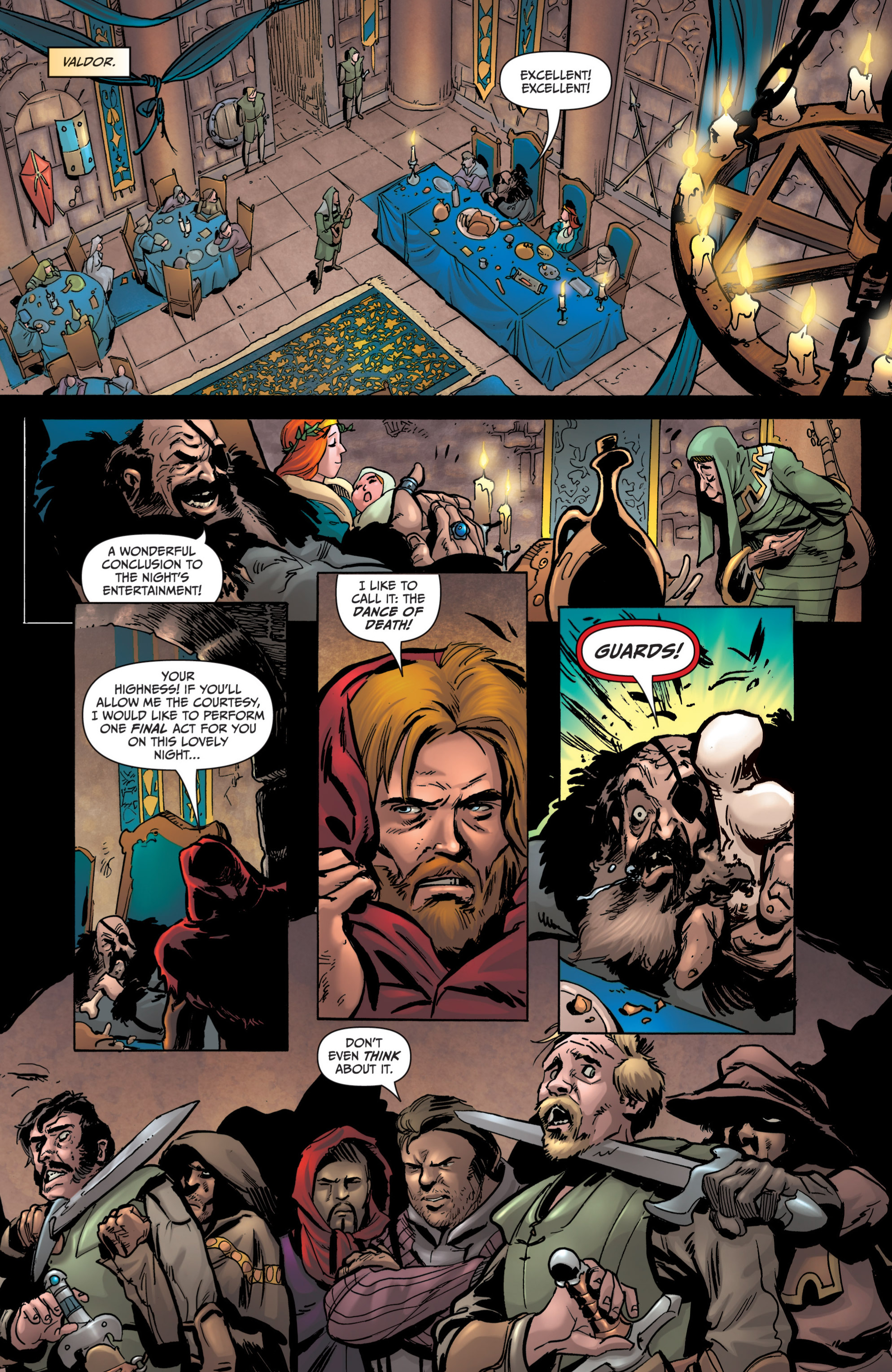 Read online Grimm Fairy Tales presents Grimm Universe comic -  Issue # TPB - 151