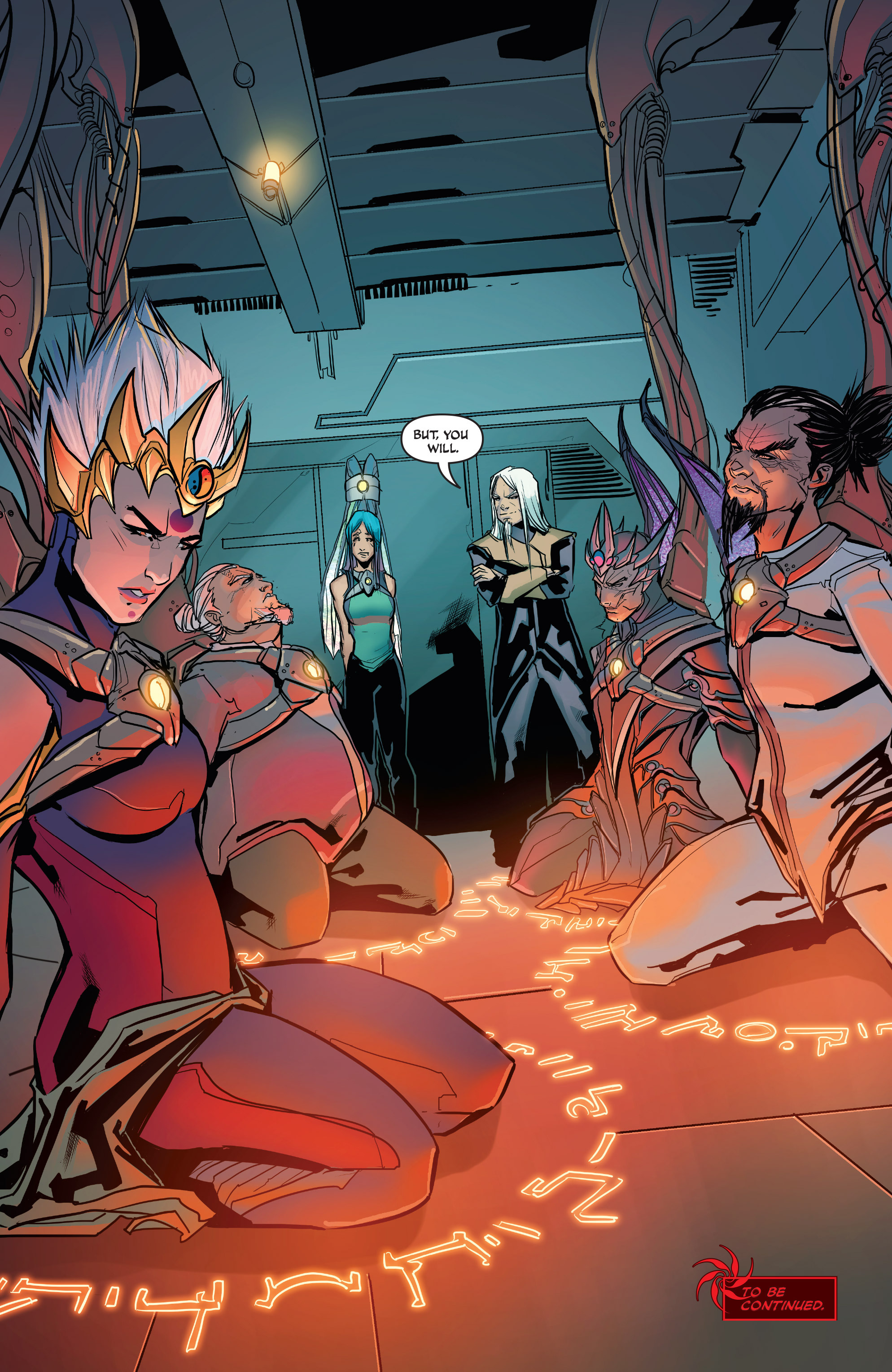 Read online All-New Soulfire Vol. 6 comic -  Issue #3 - 22