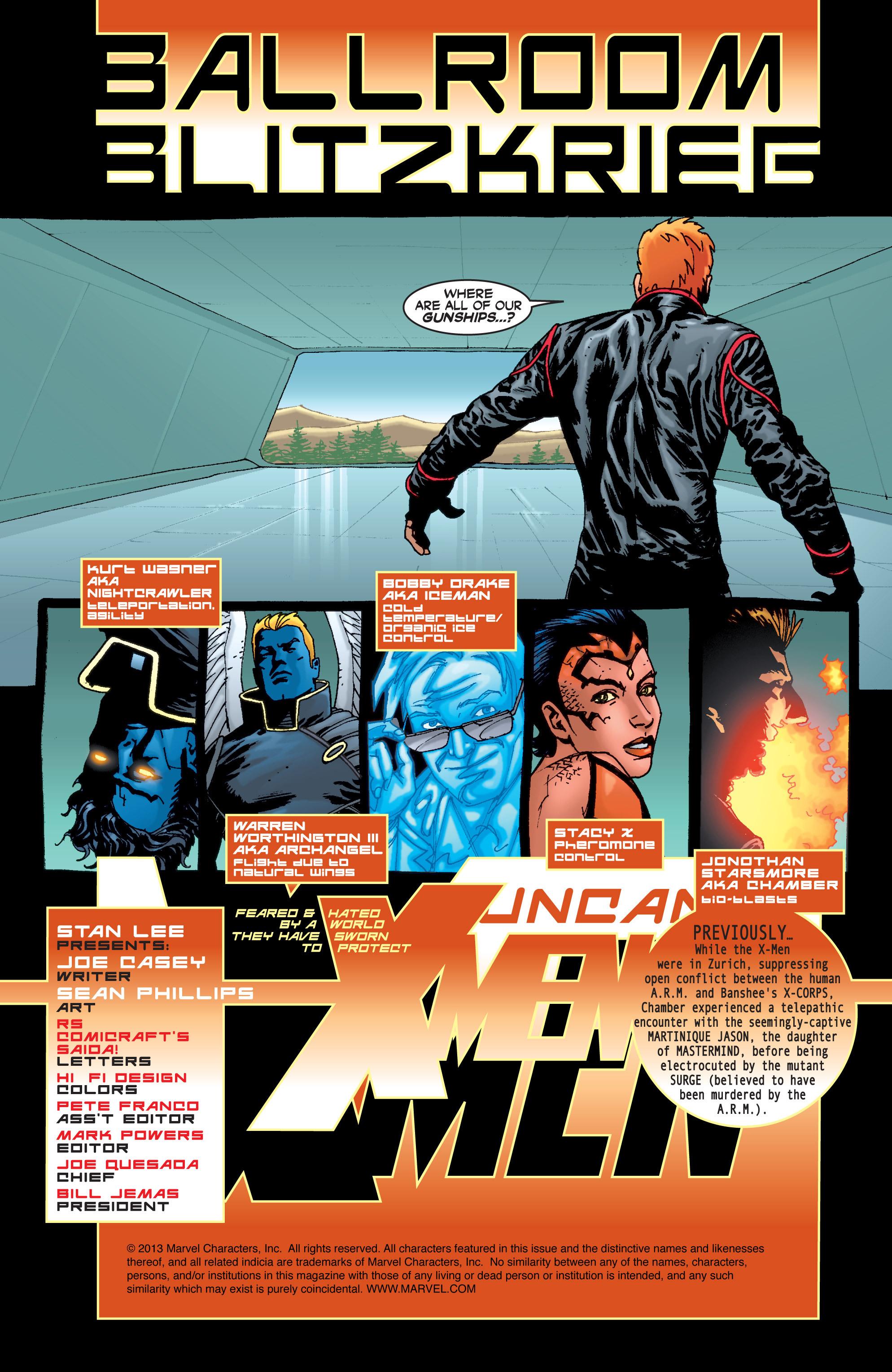 Read online Uncanny X-Men (1963) comic -  Issue #405 - 2