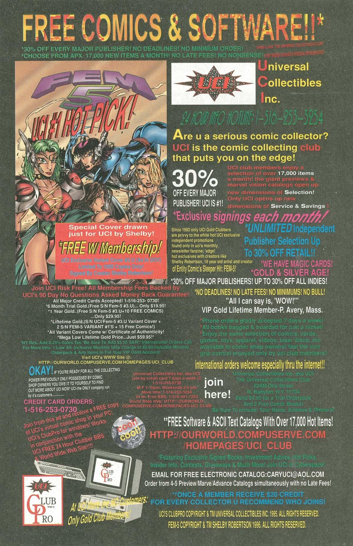 Read online UltraForce (1995) comic -  Issue #6 - 30