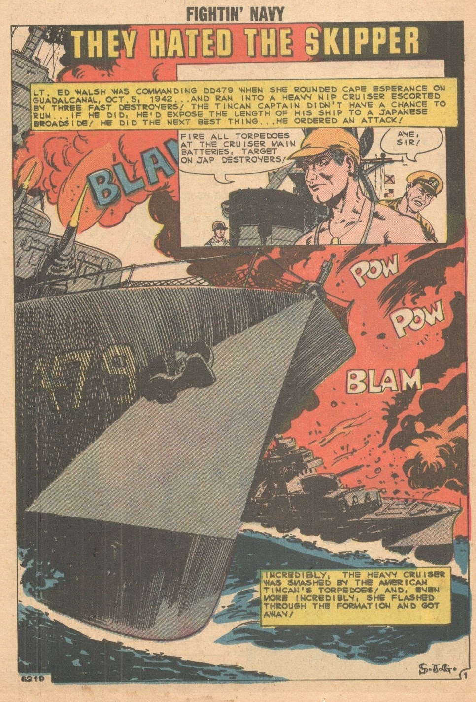 Read online Fightin' Navy comic -  Issue #93 - 26